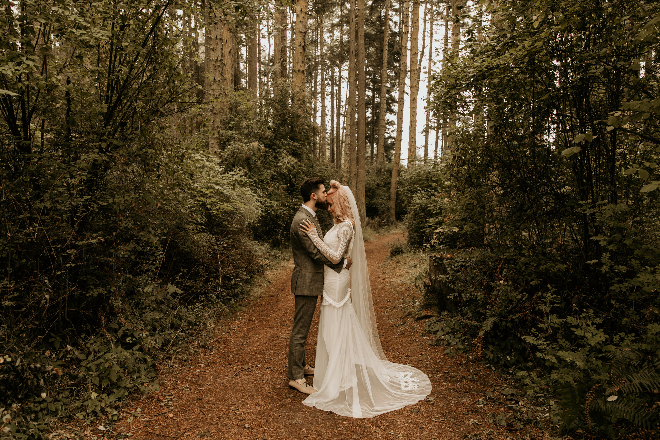 Whidbey Island Wedding at the Crockett Farm   Wedding