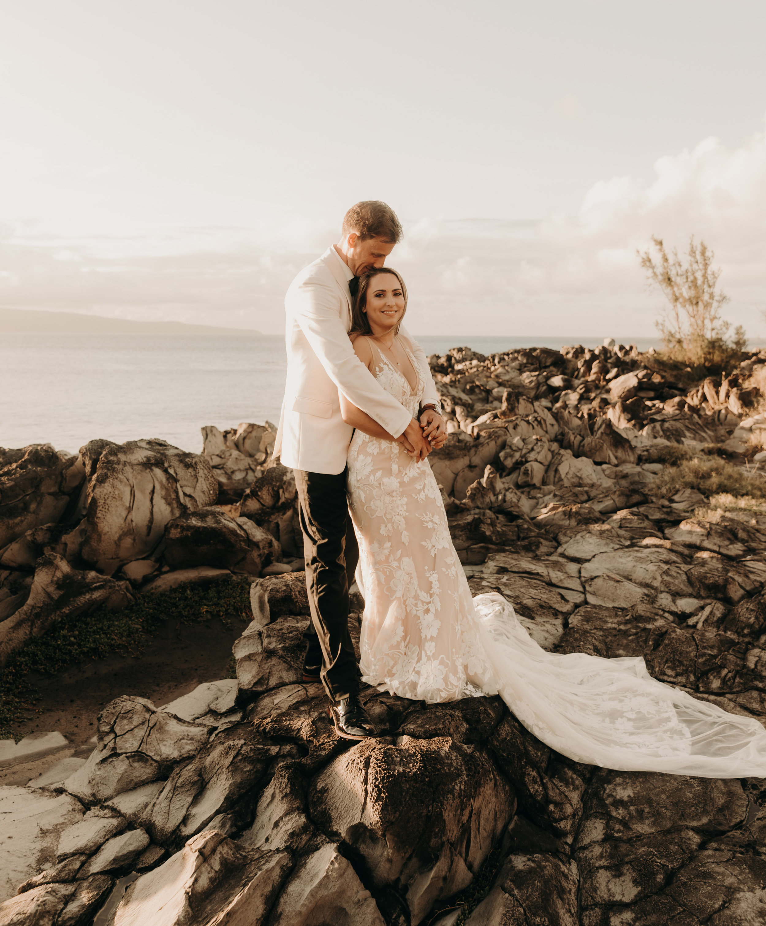 Tropical Maui, Hawaii wedding at The Ritz Carlton Kapalua   Wedding