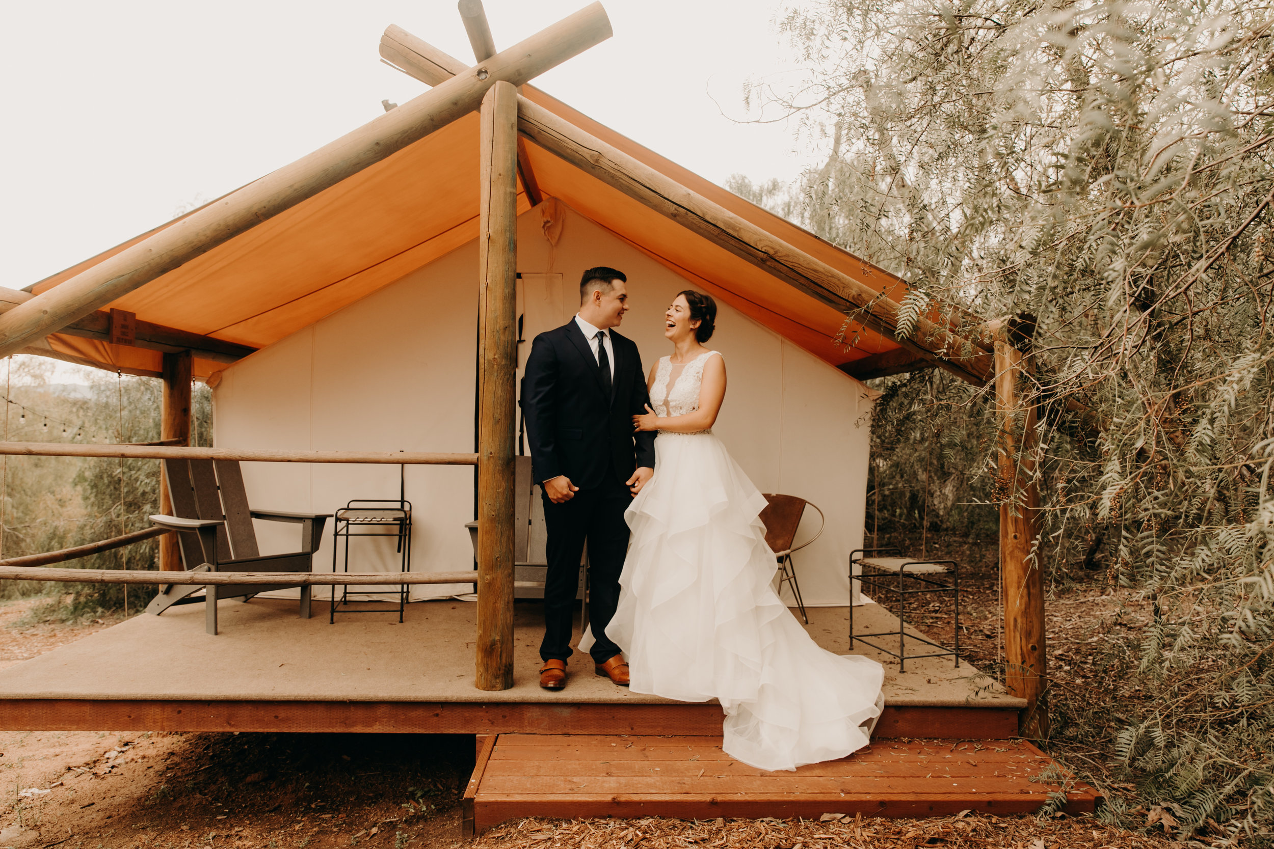 San Diego wedding at Etherial Open Air resort   Wedding