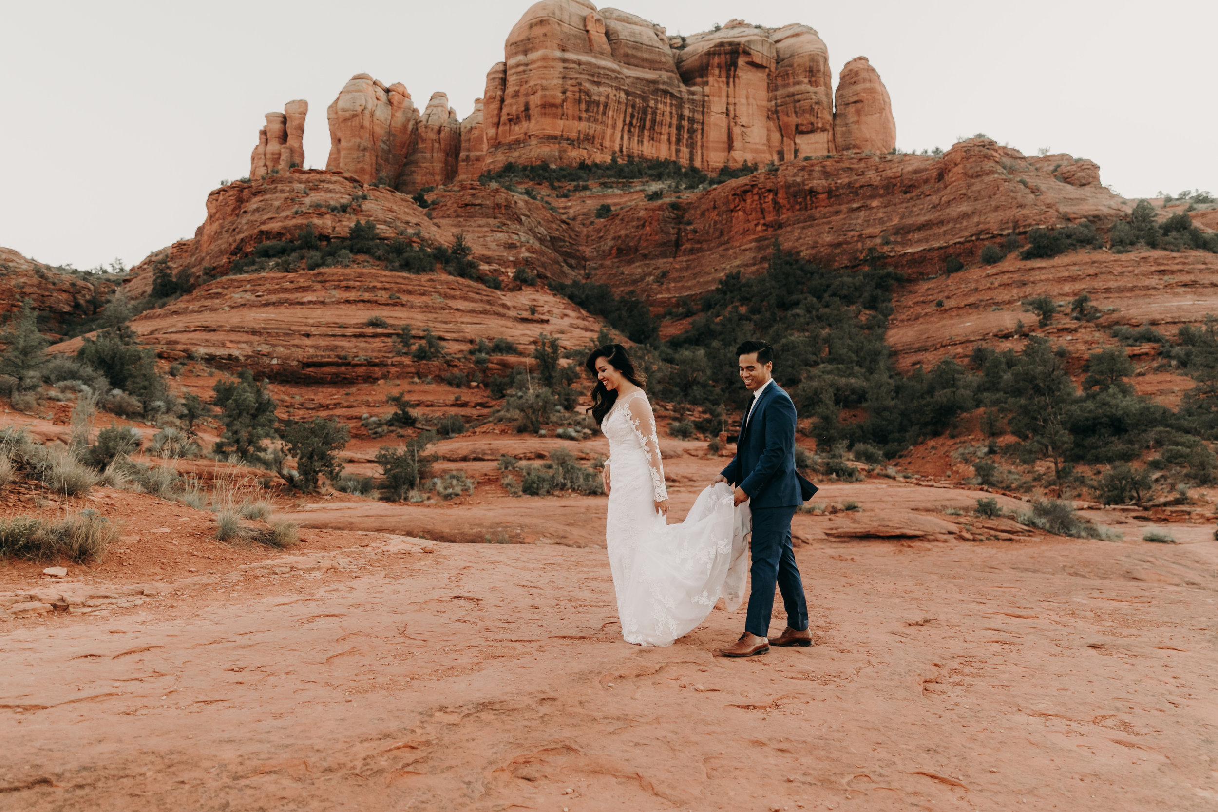 Sedona Elopement at Cathedral Rock   Elopement