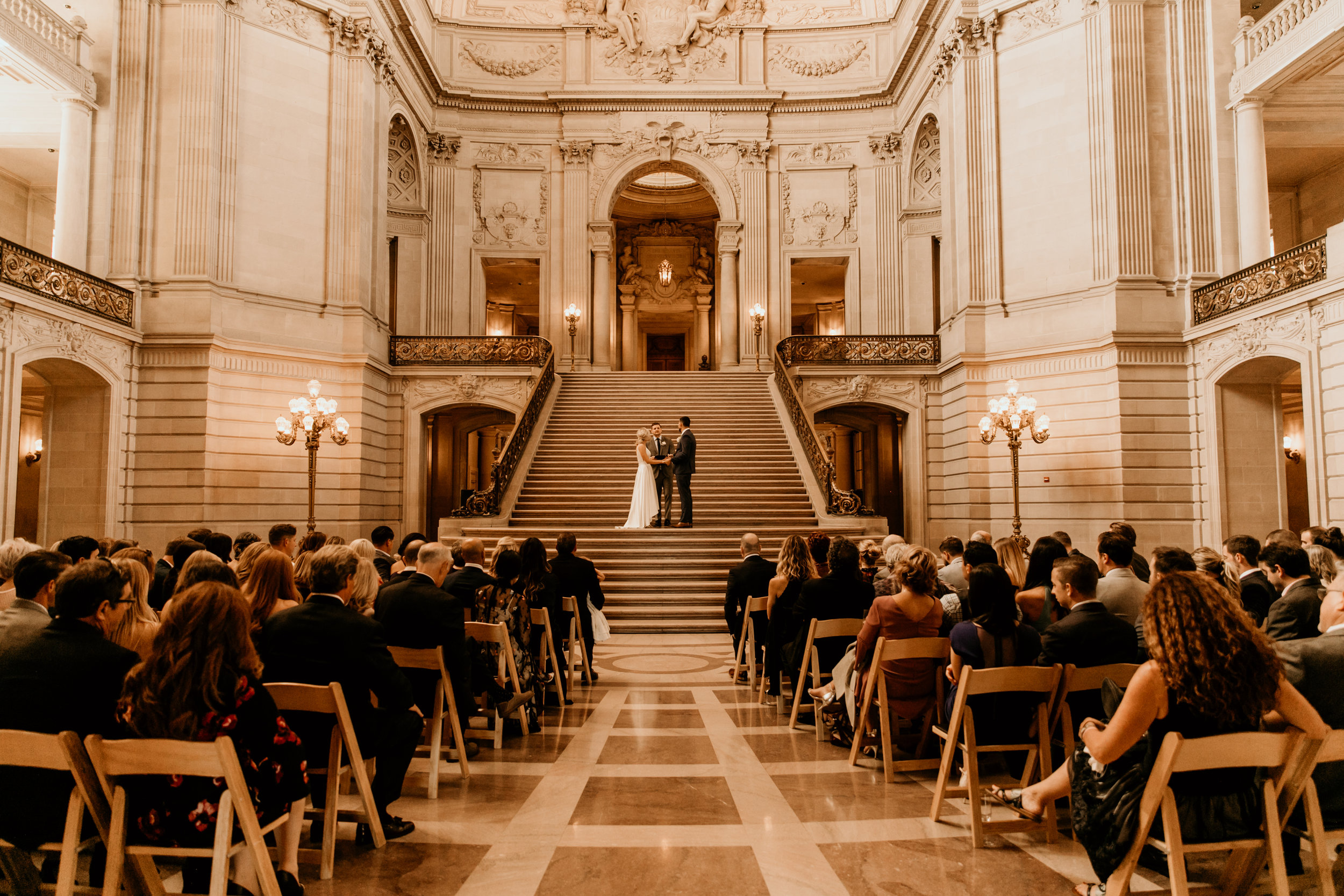 San Francisco city hall wedding    Wedding