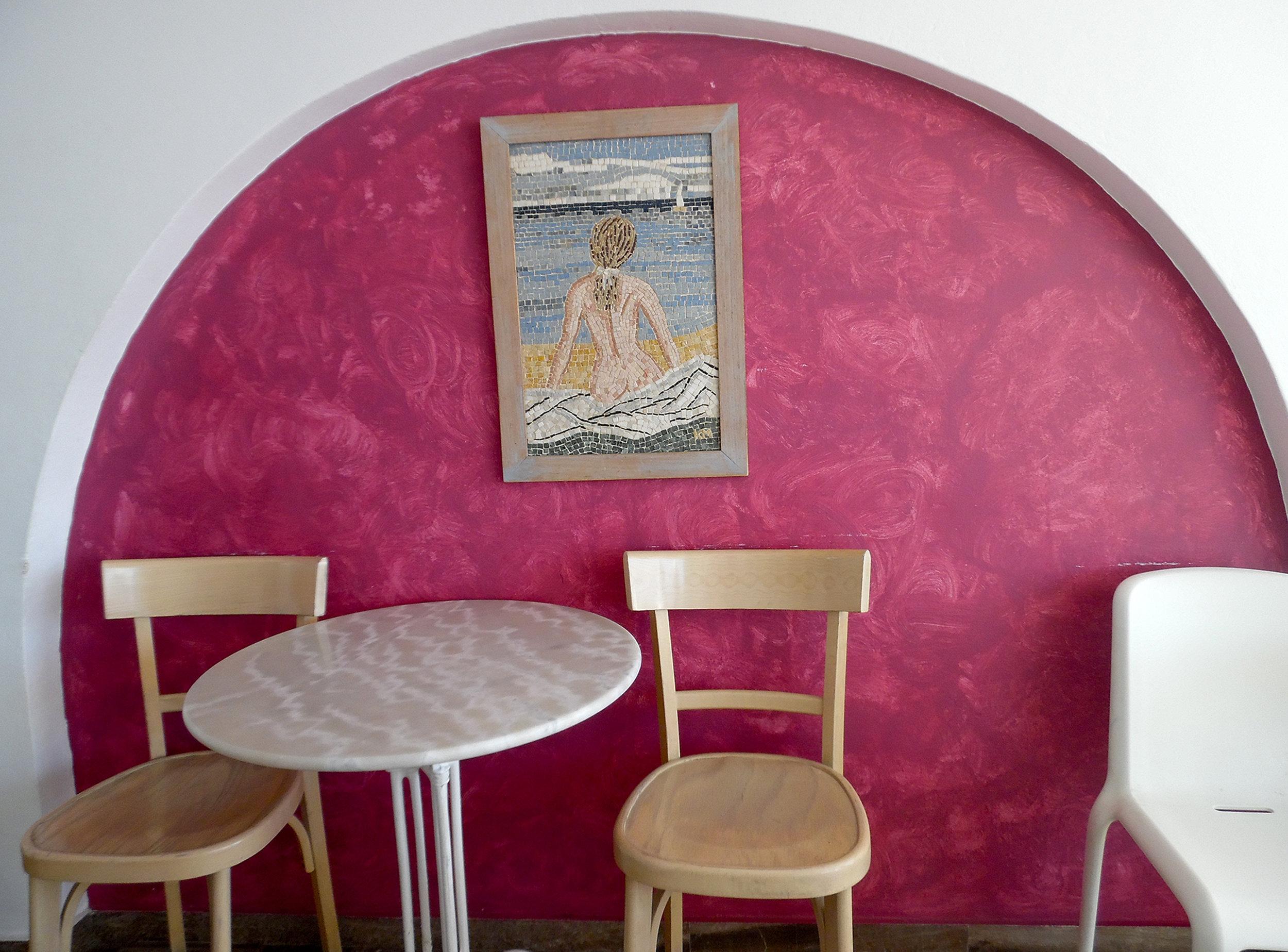 The cutest accent wall in Skiza