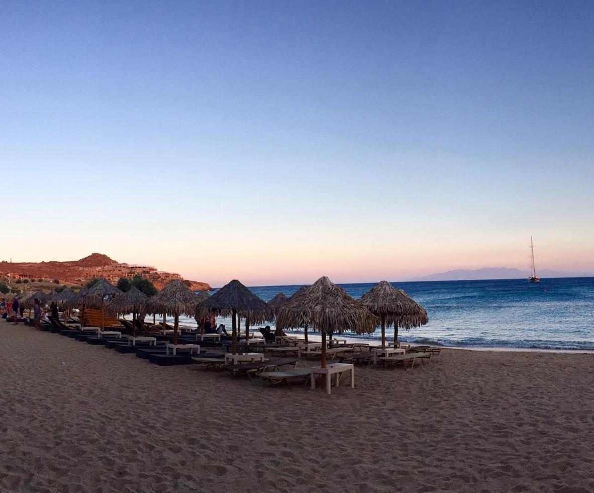 Paradise Beach, Mykonos, Greece (September 2016)