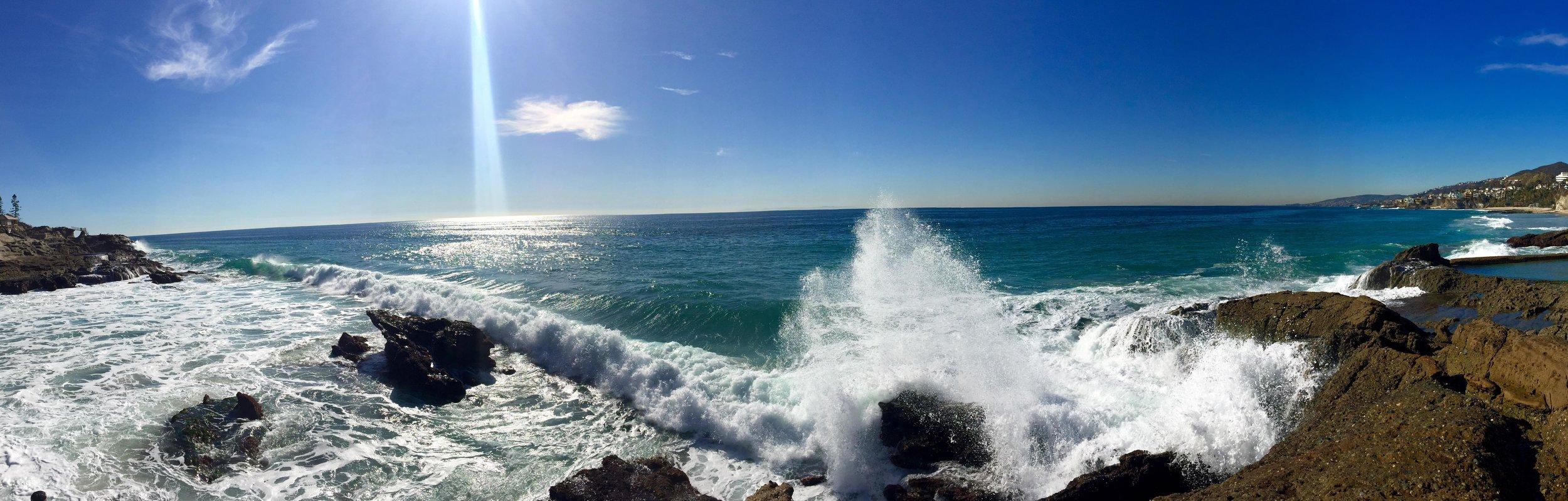 Thousand Steps Beach, Laguna Beach, California (February 2016)