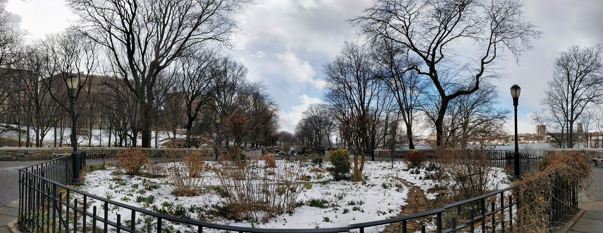 Location: 91st Street Garden (in Riverside Park near the Hudson at 91st Street)