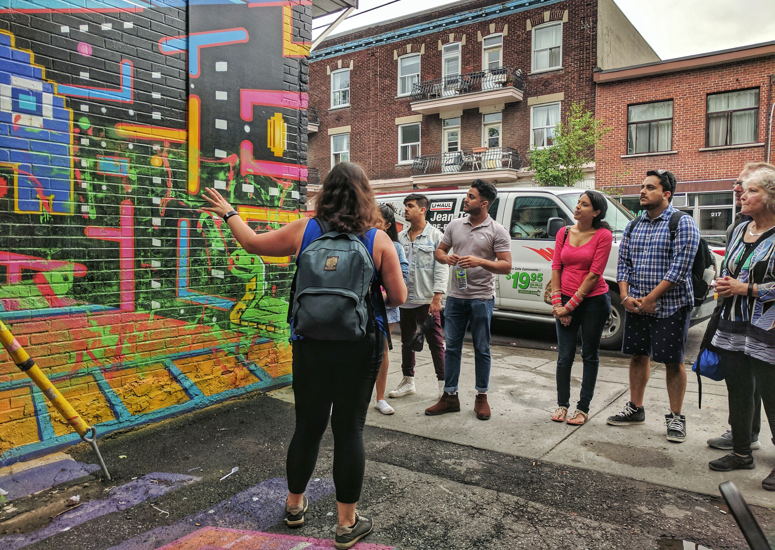 What would a Mile End food tour be without a stop to look at street art?