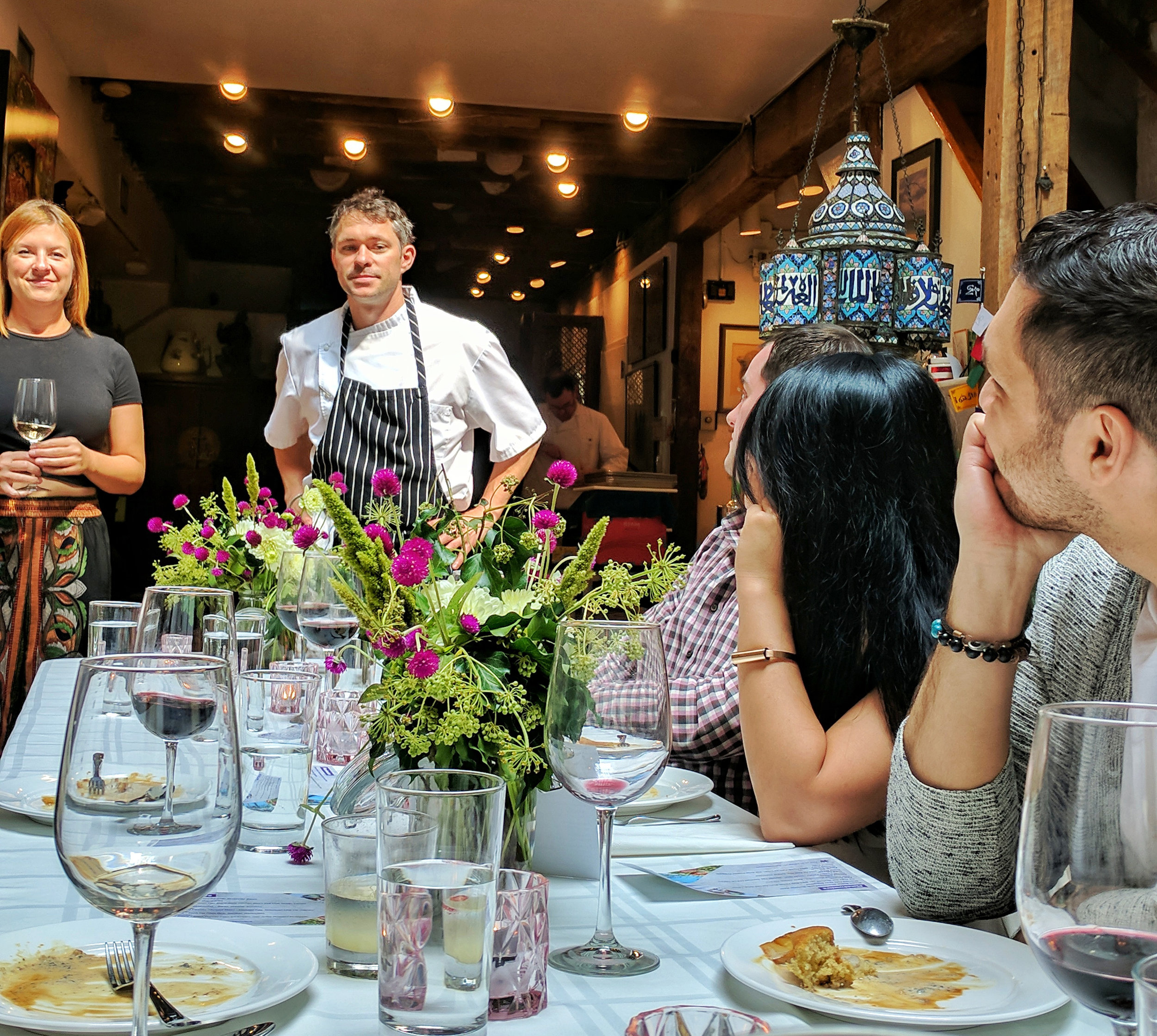 Founder Katie Smith-Adair and Chef Alex Sorenson talking about PlaceInvaders and the inspiration for the meal