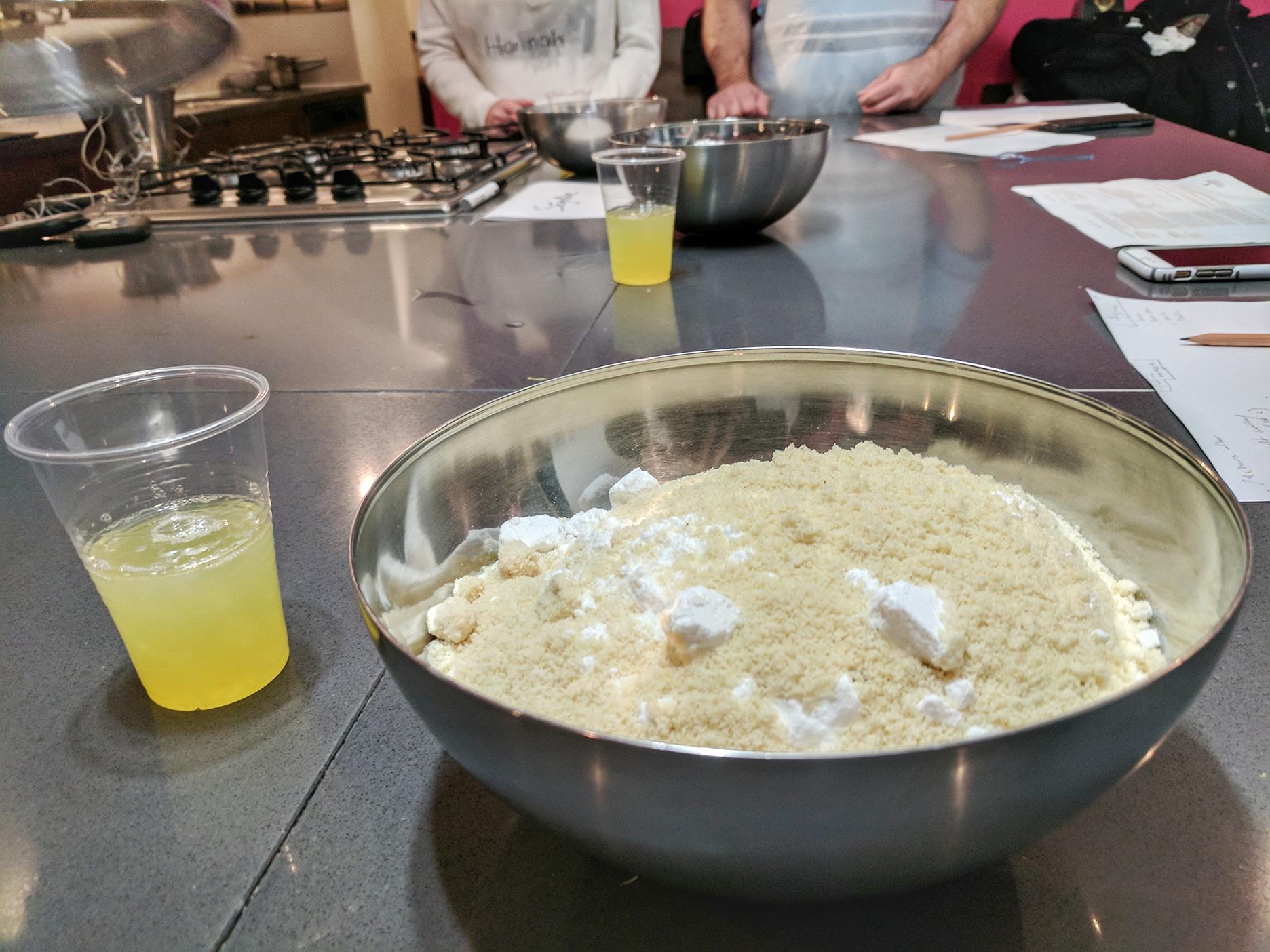 Almond mixture Ingredients
