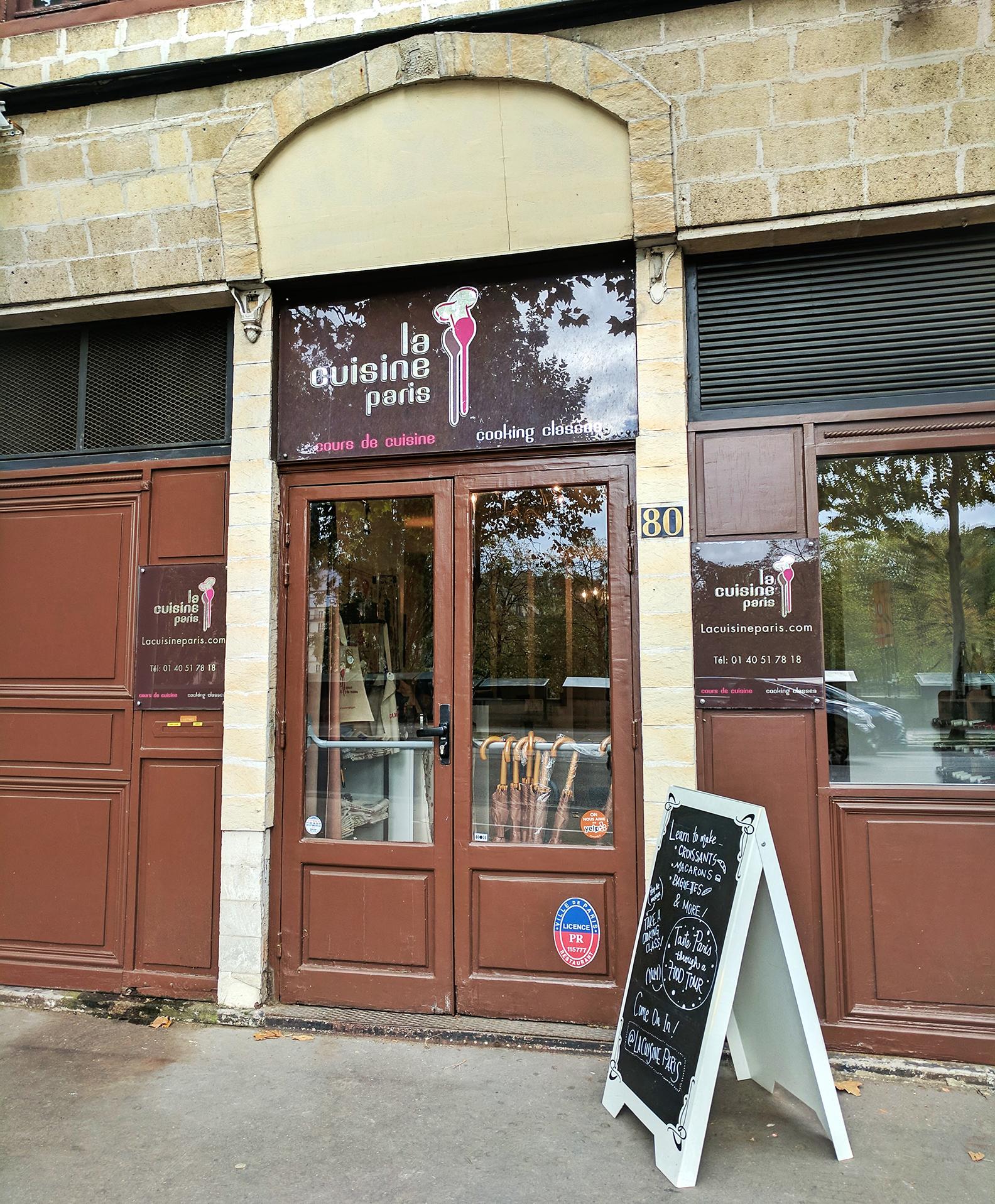 La Cuisine Paris storefront
