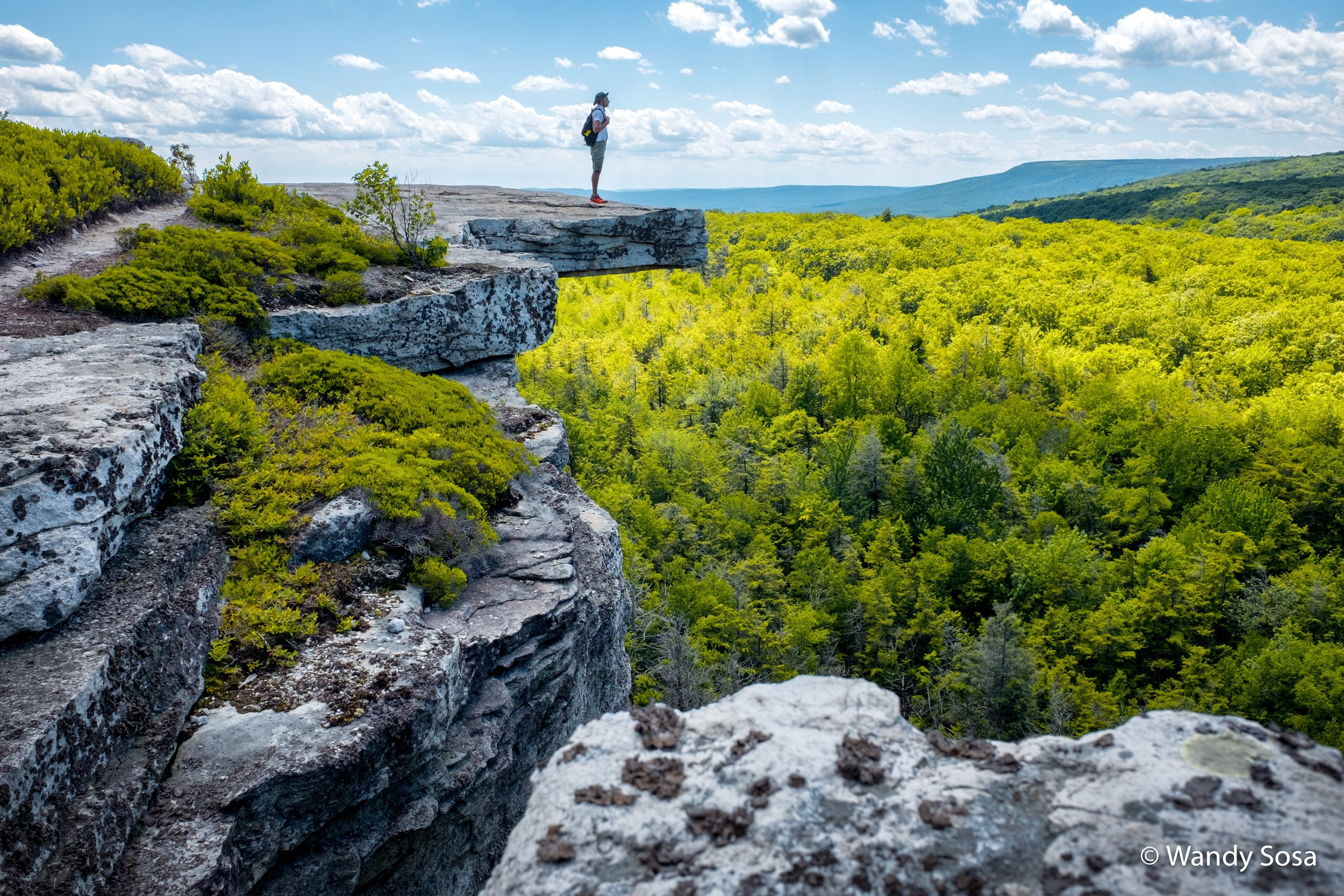 Minnewaska State Park Preserve, New York, USA (photo by Wandy)