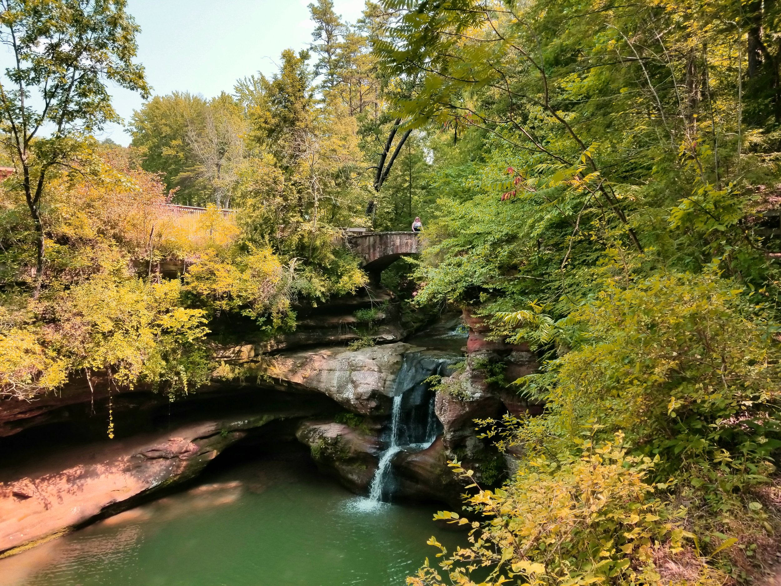 Hocking Hills State Park, Ohio, USA (photo by Heather)