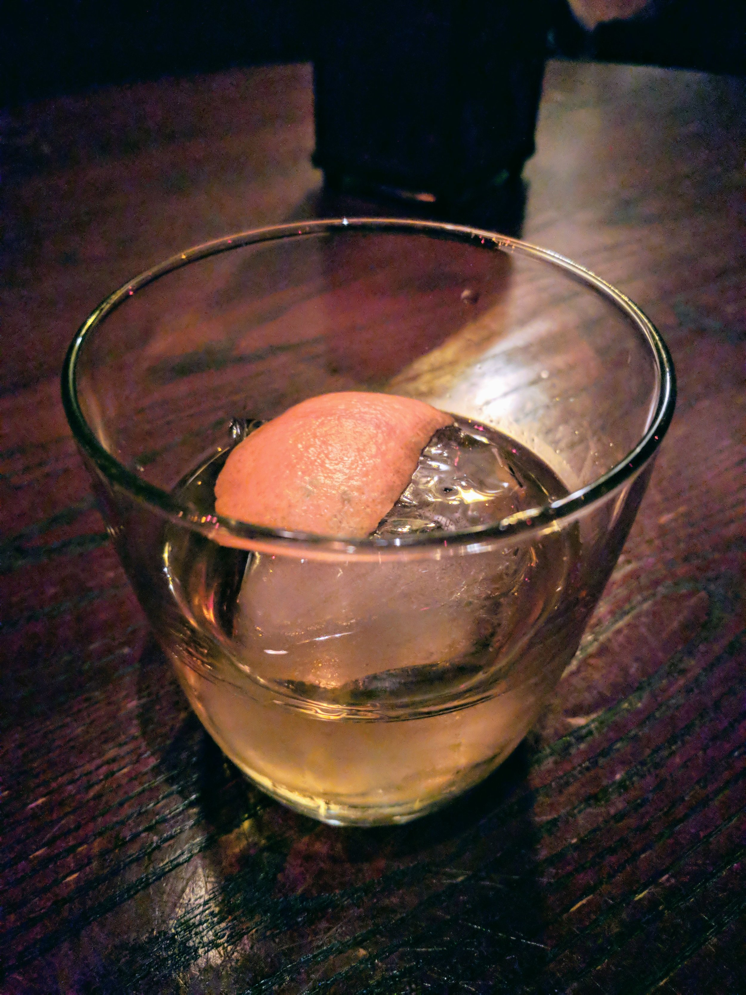 The best Old Fashioned I've ever had