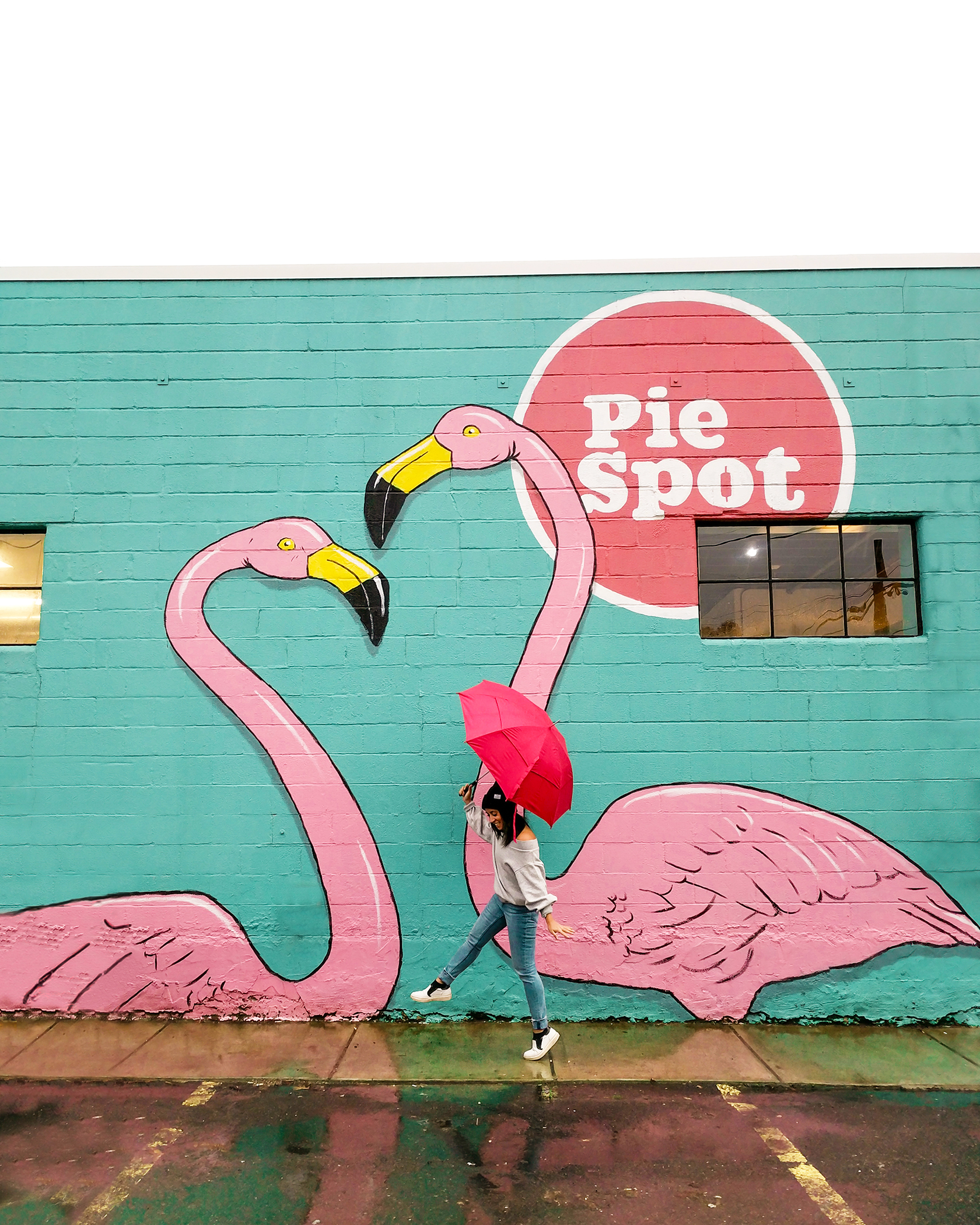 It may rain while you're out on your Insta adventures, this is Portland after all! So don't forget to bring your cute umbrella as a prop!