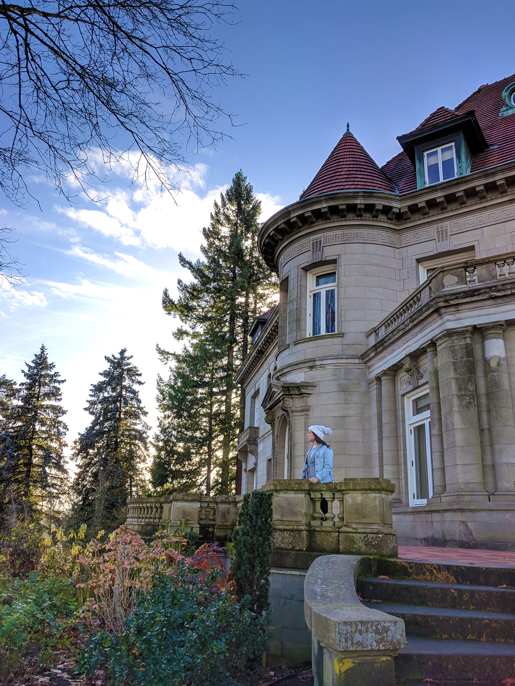 The trail will weave into Washington Park where it makes a steep ascent up to Pittock Mansion - which sits at one of the trail's highest and most scenic peaks.