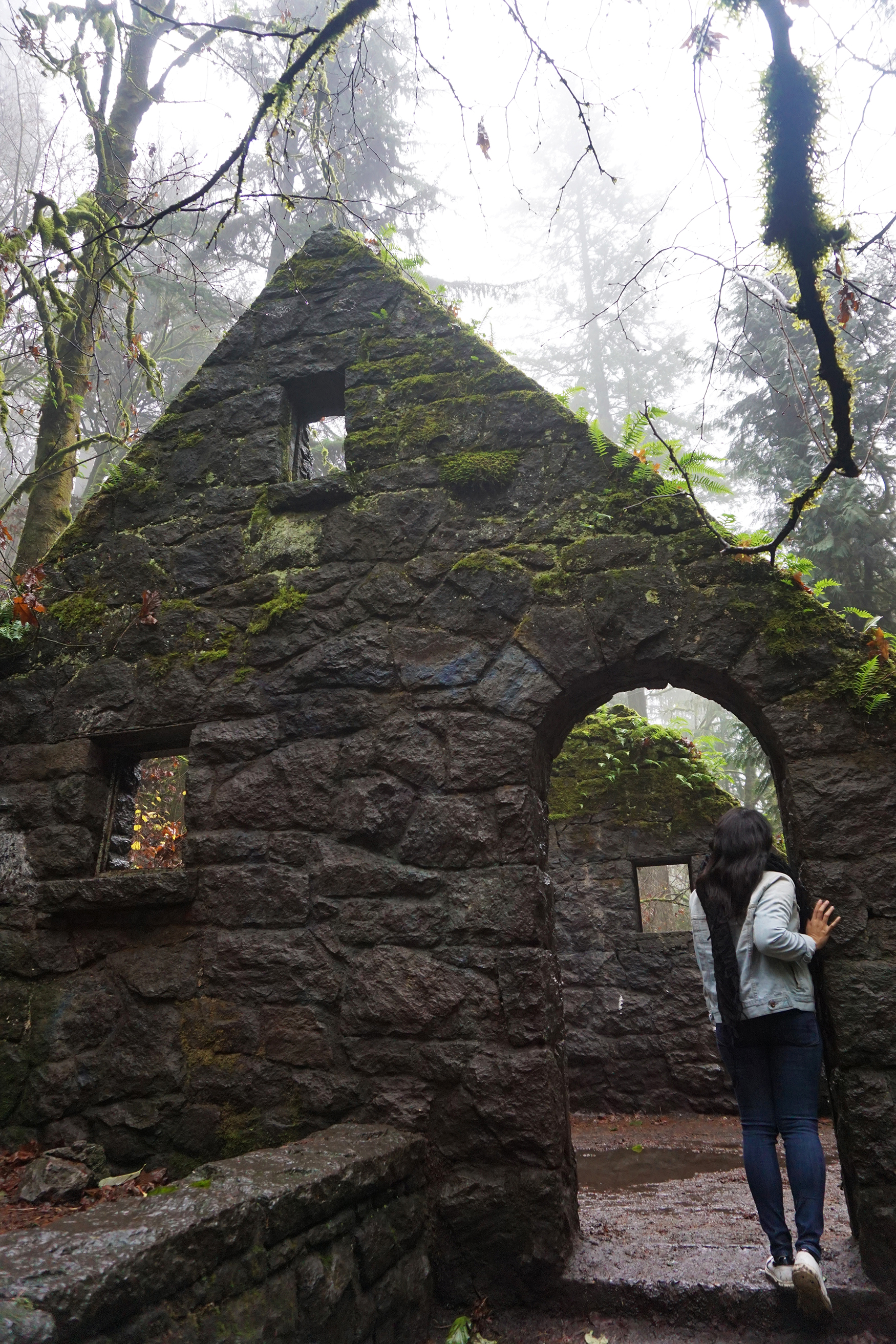 This is technically known as the Stone House in Forest Park - but it is more fondly known by locals as the Witch's House