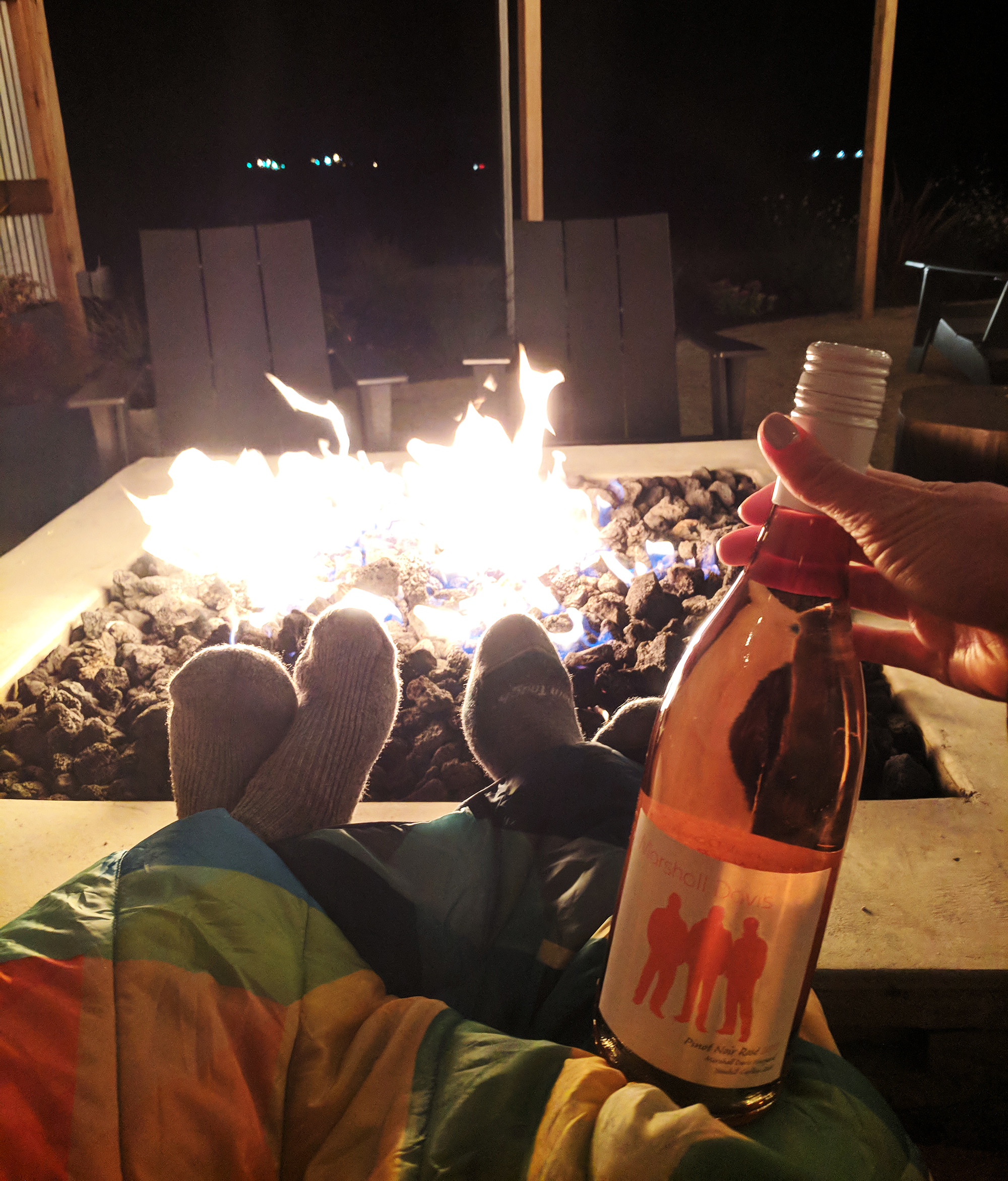 sitting by The Vintages fire pit.jpg