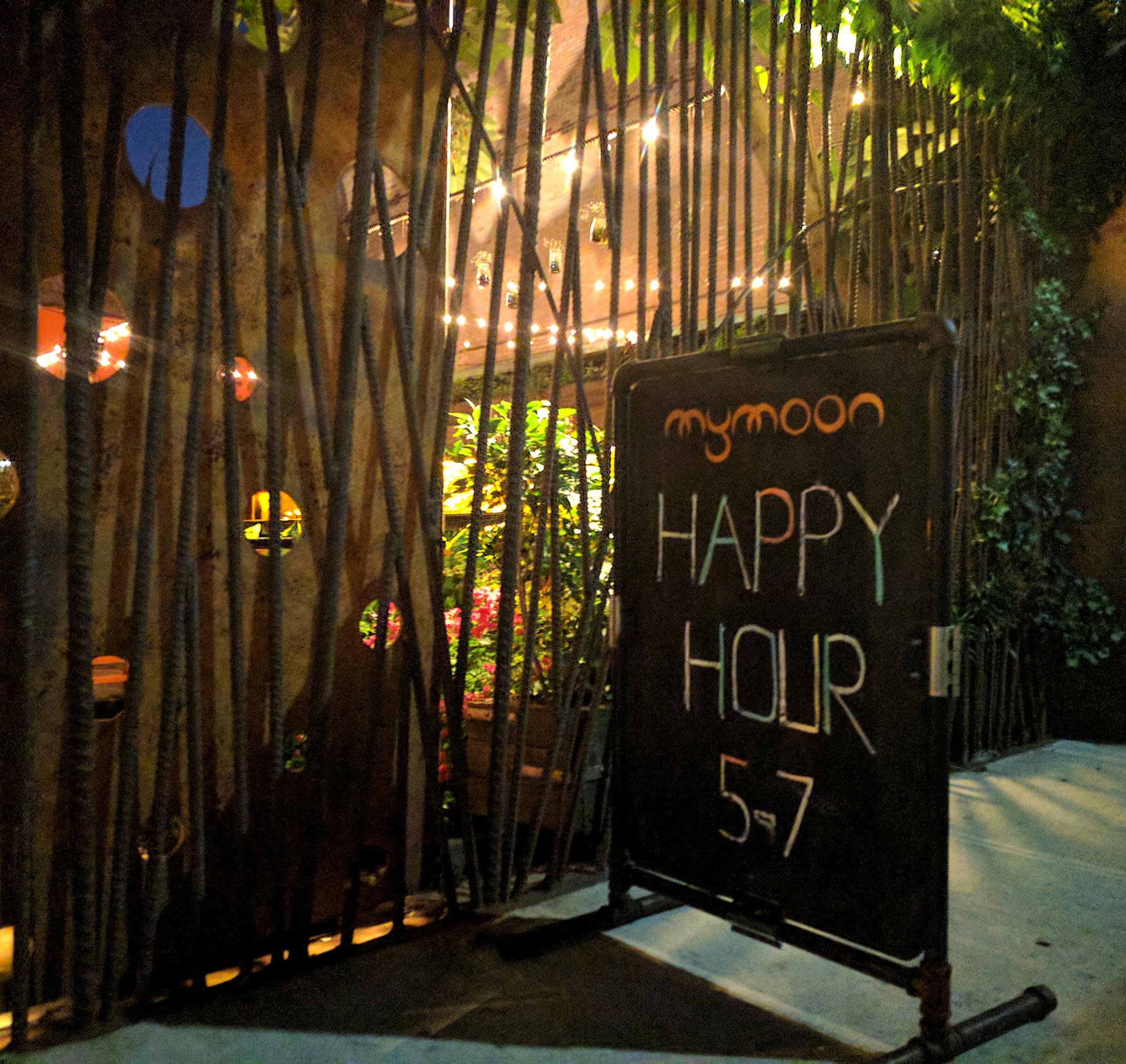 My Moon restaurant happy hour