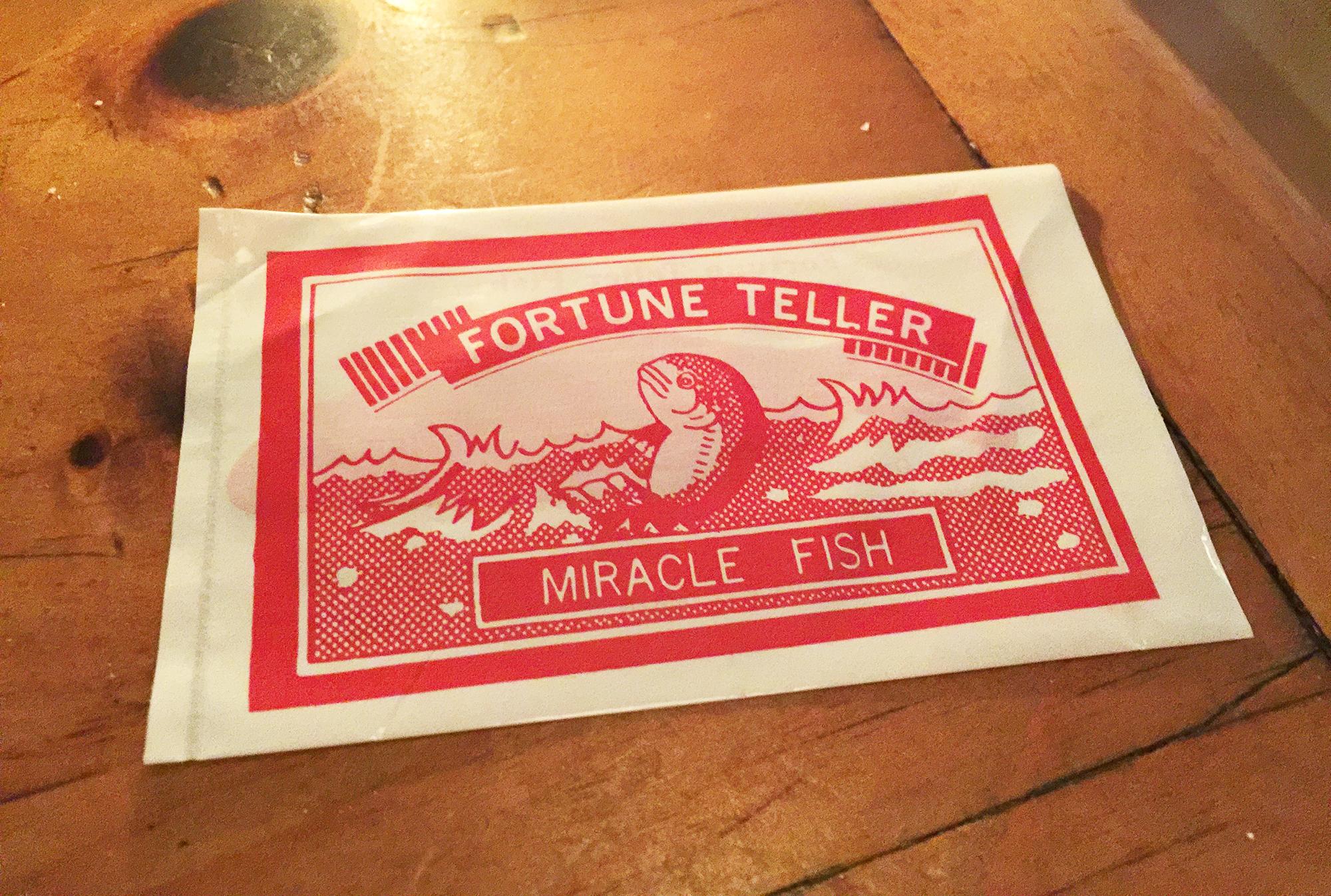 The Mermaid Inn fortune teller fish