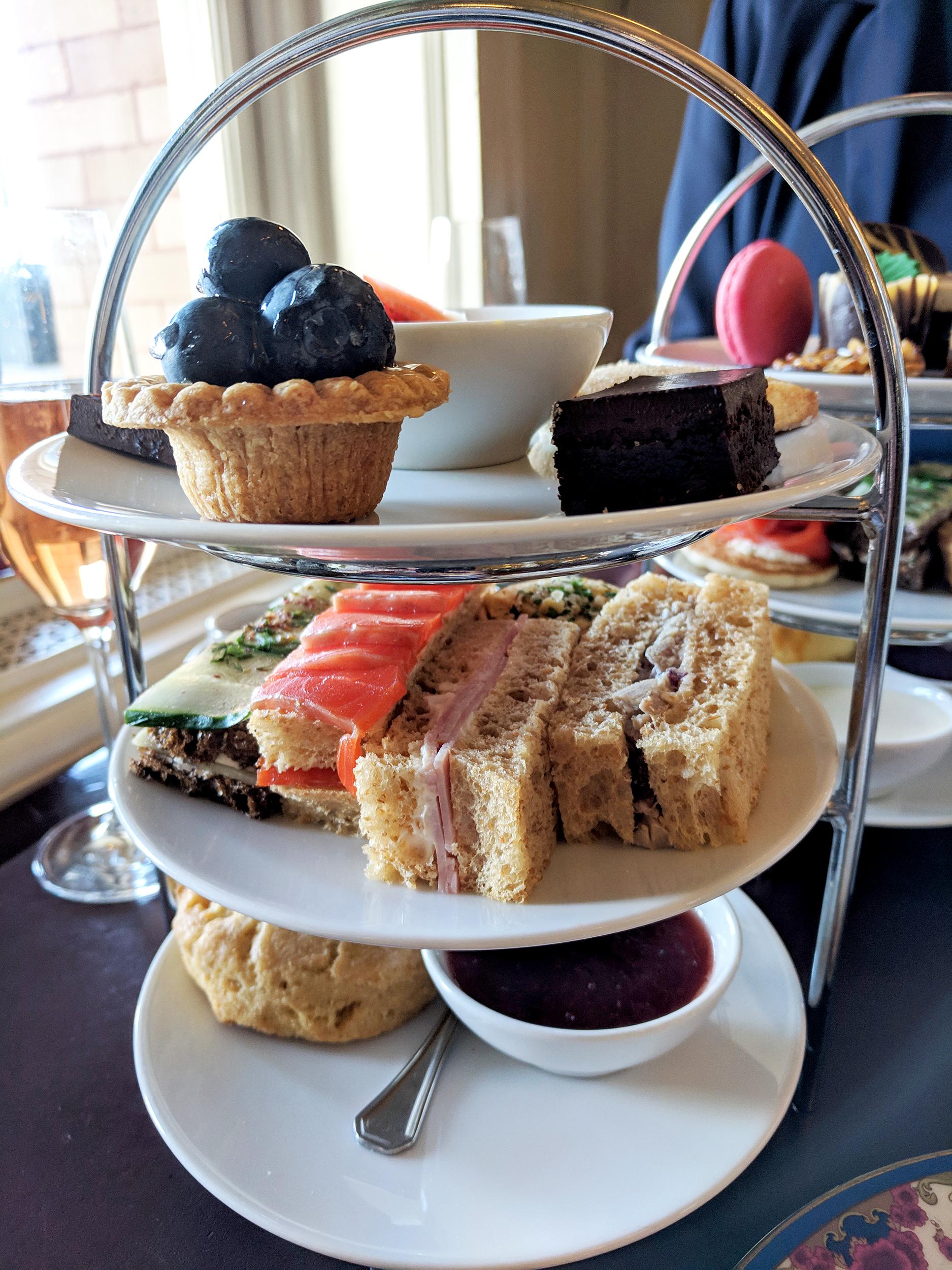 Fairmont Empress tea tray