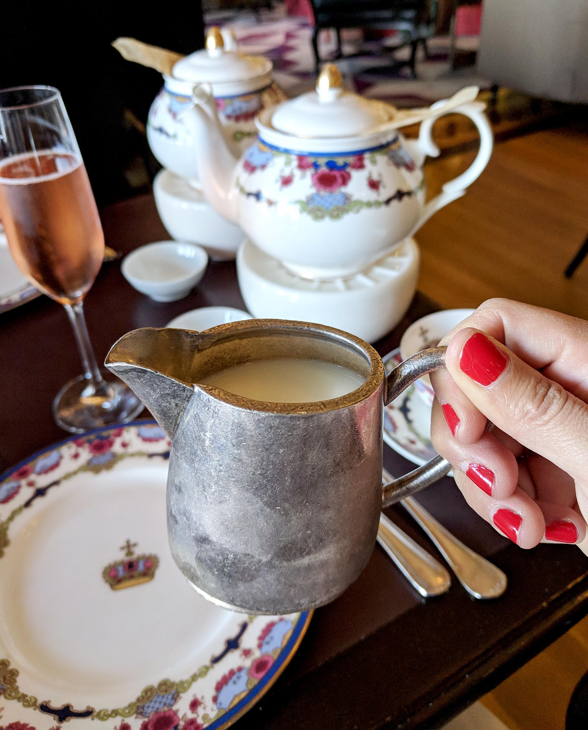 Tea at the Empress milk pitcher