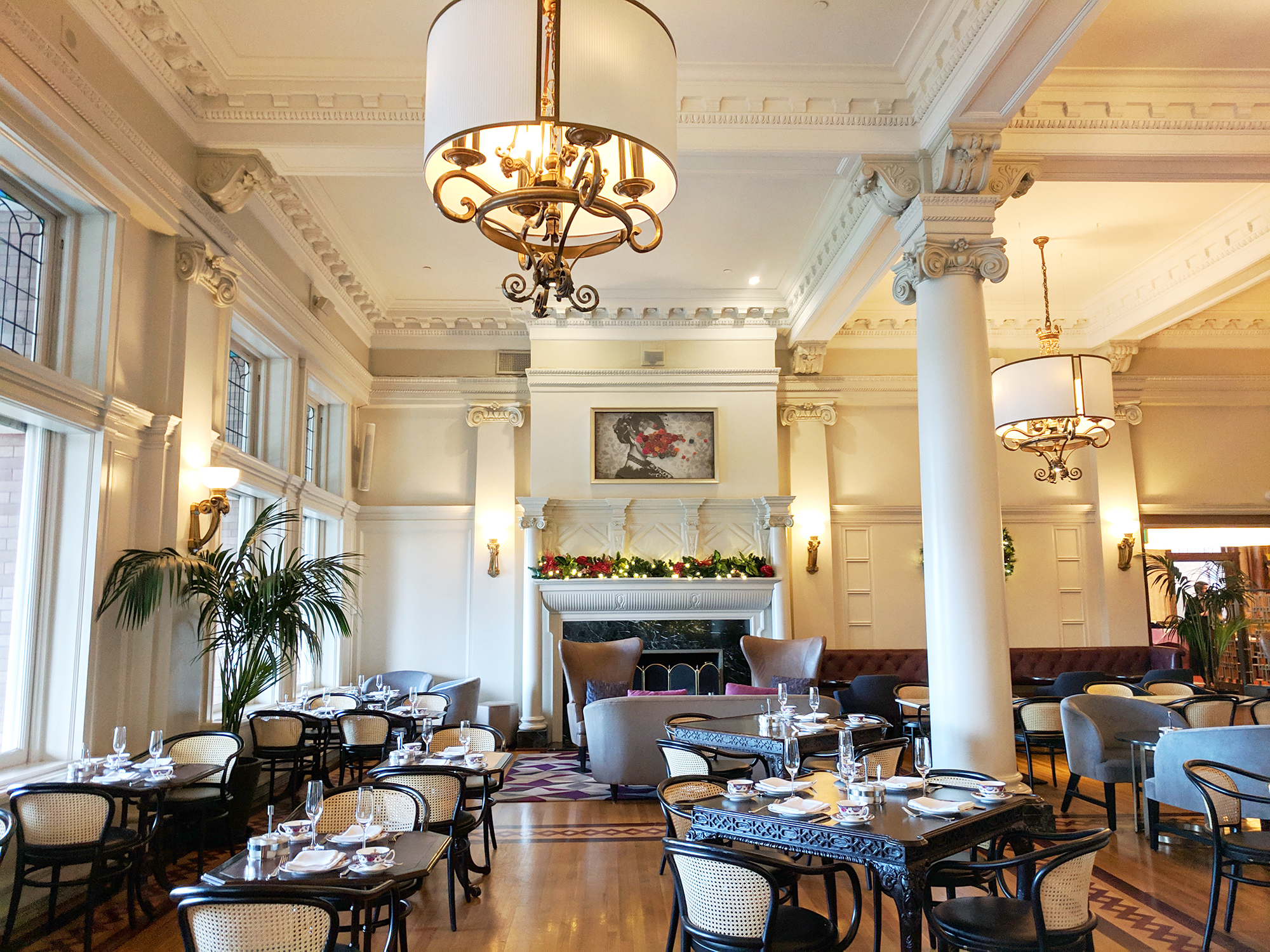 The Empress Tea Lobby
