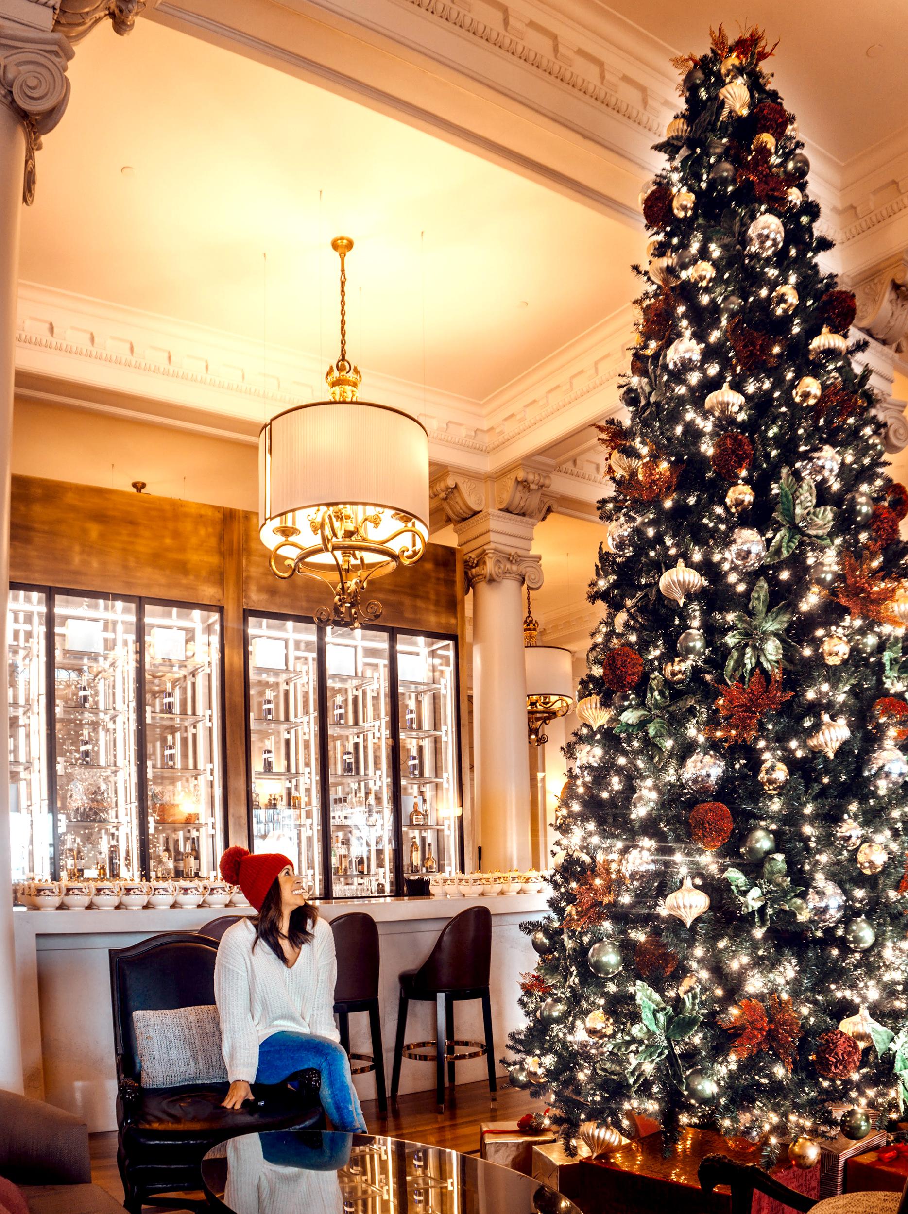 The Empress Tea Lobby tree