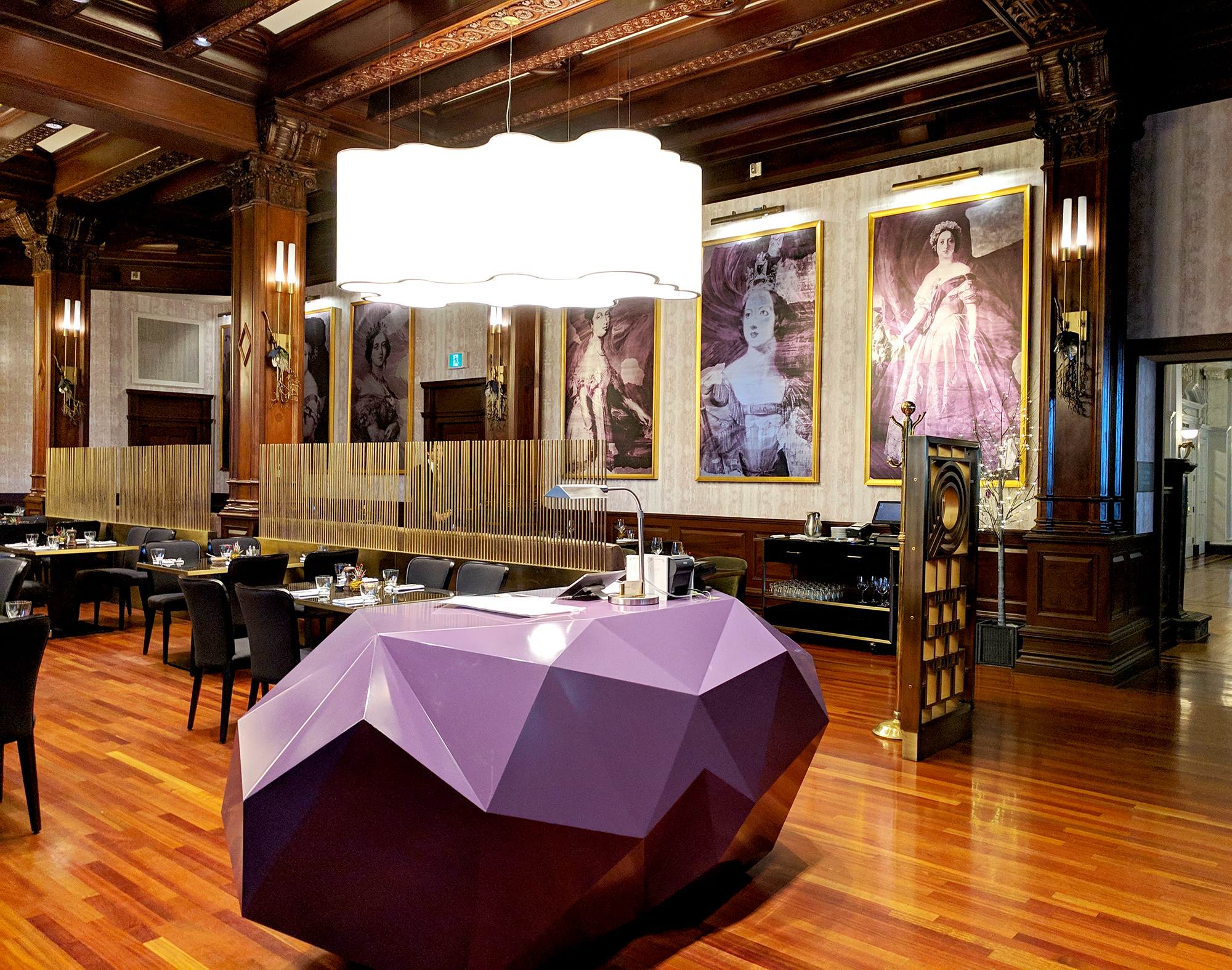 Q at the Empress restaurant