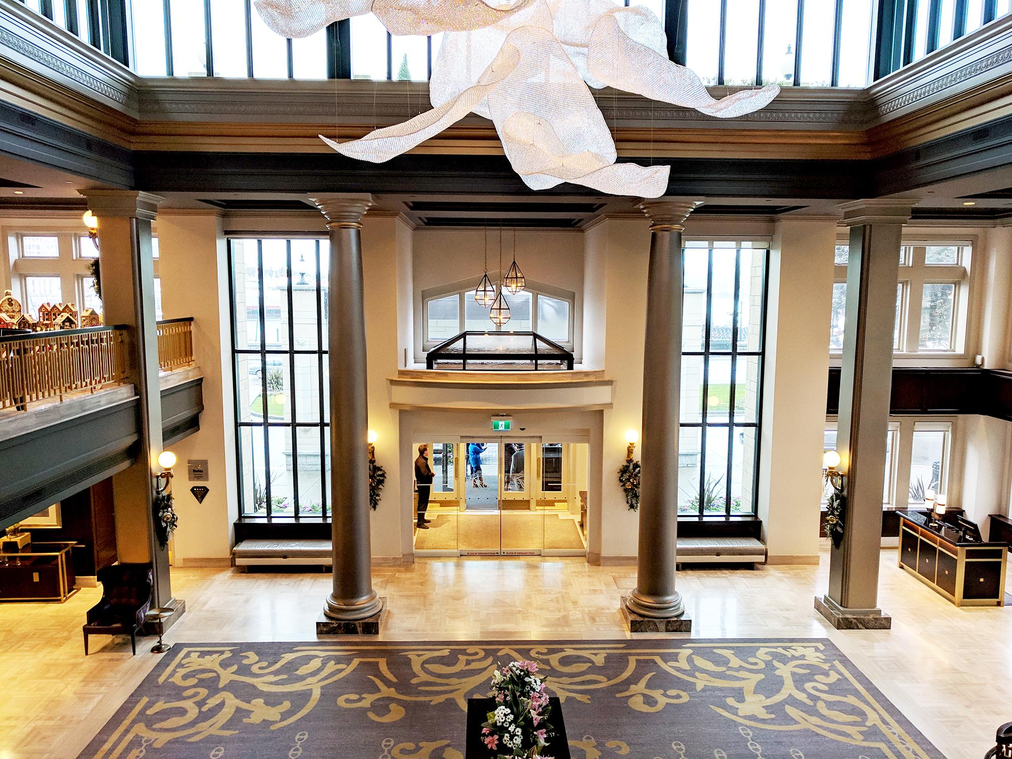 Fairmont Empress lobby