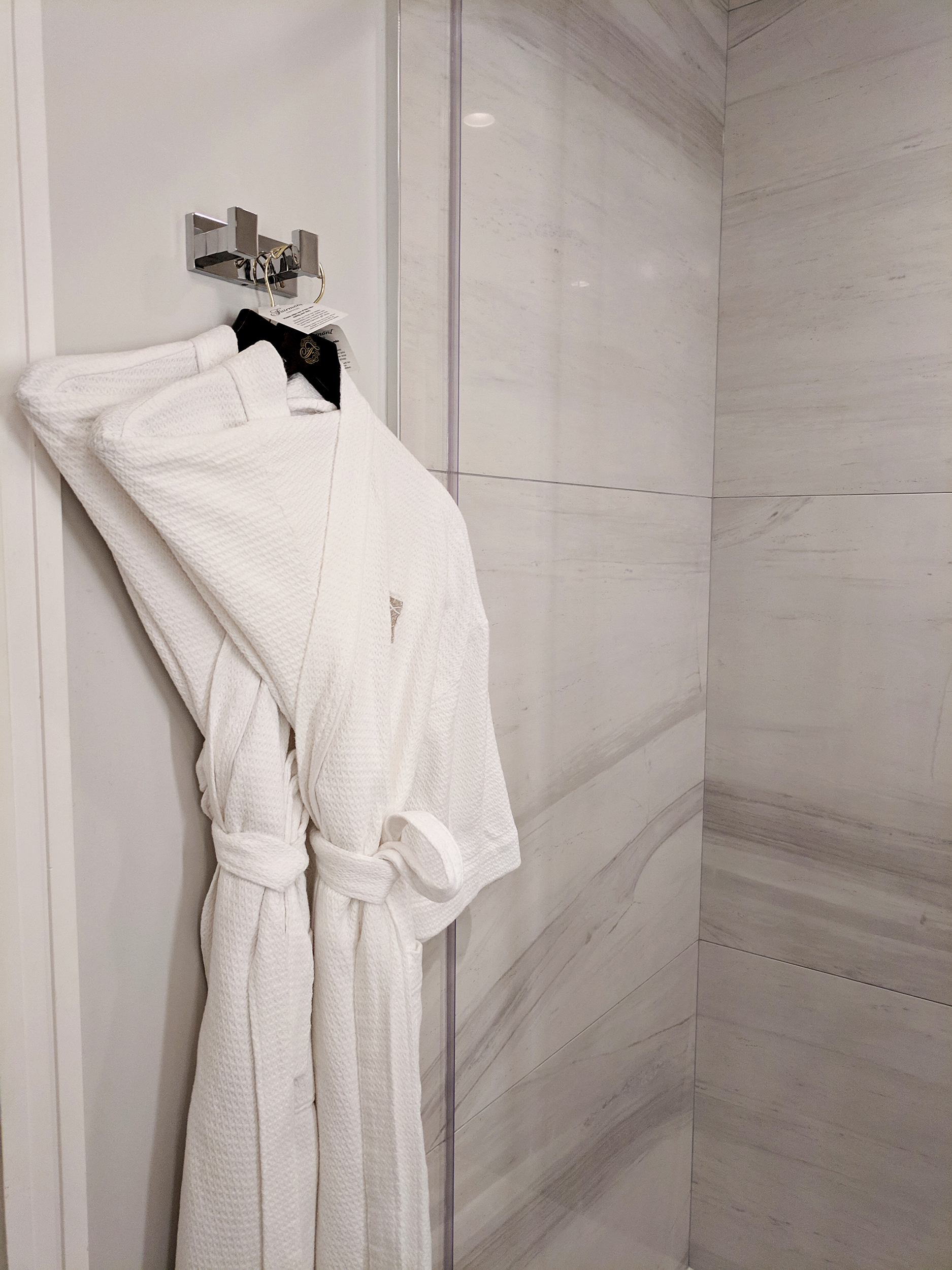 Fairmont Empress robes