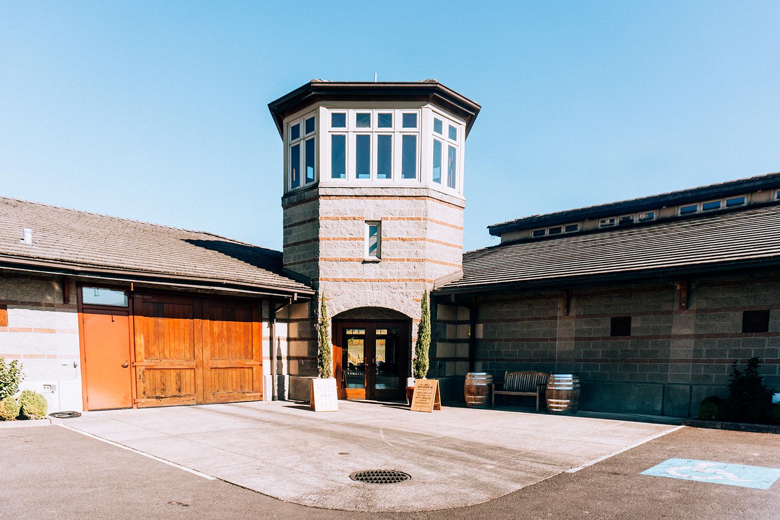 Adelsheim Vineyard entrance