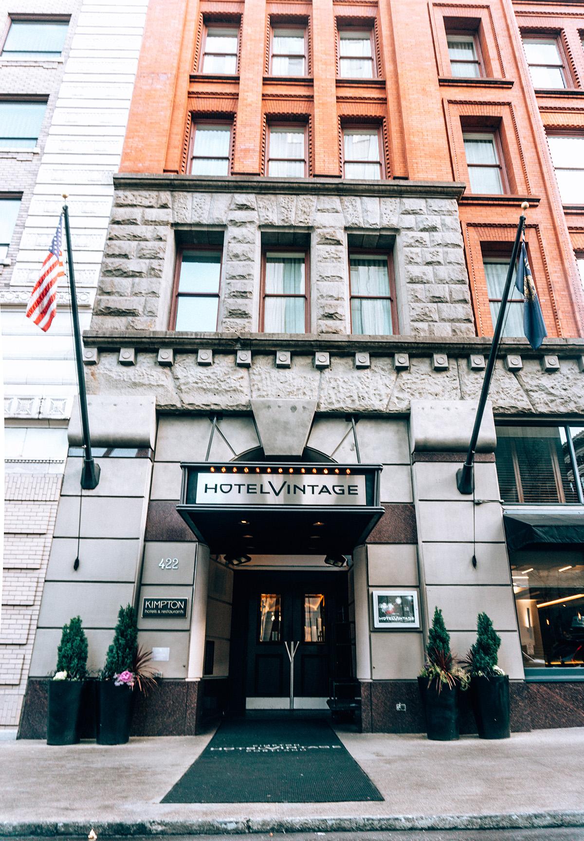 Hotel Vintage front entrance