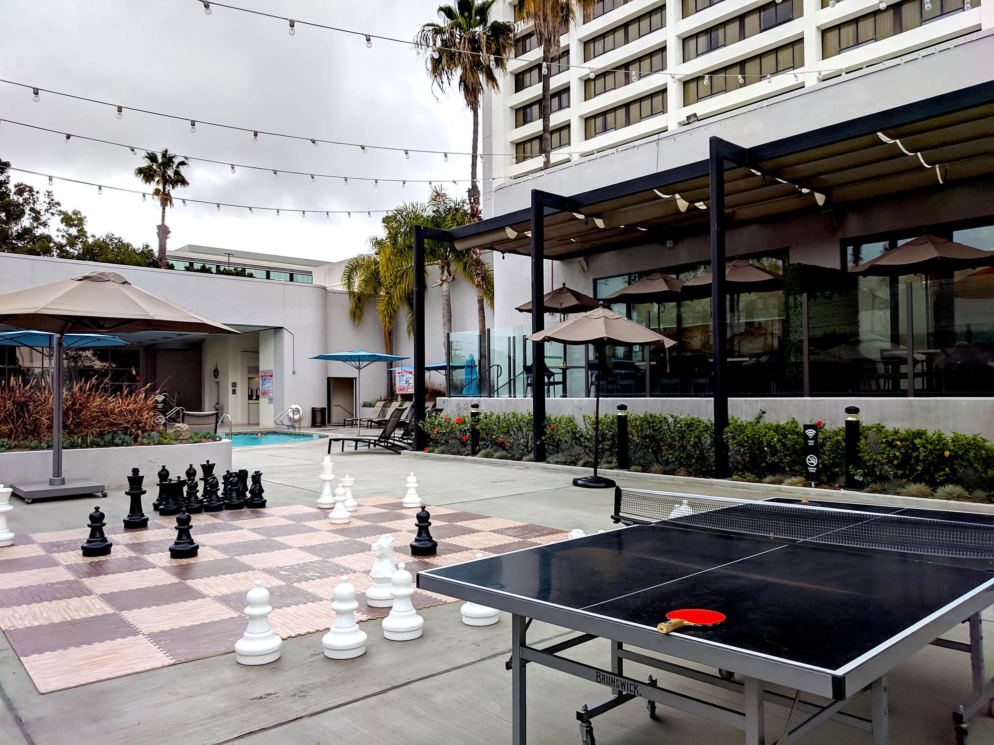 Torrance Marriott game area