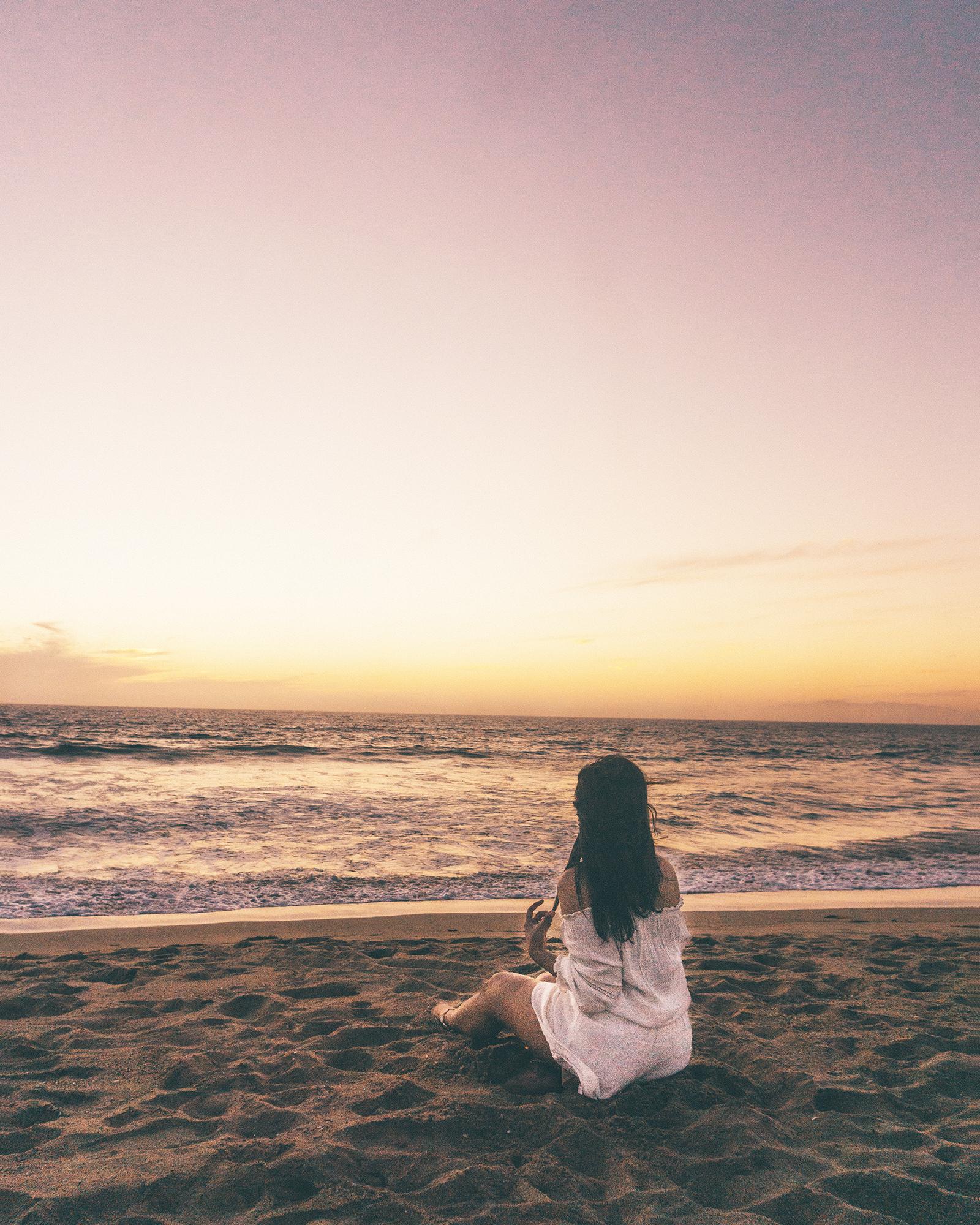 Torrance State Beach sunset