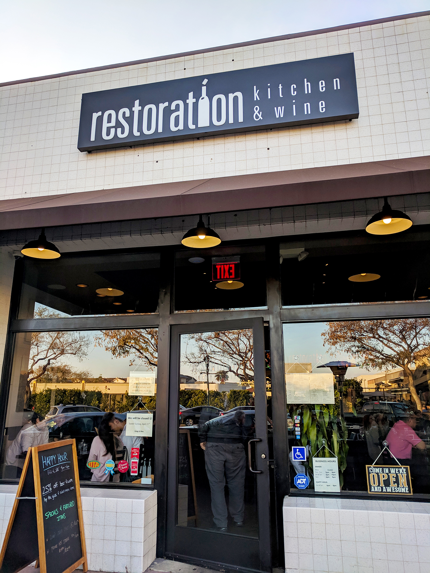 Restoration Kitchen and Bar exterior