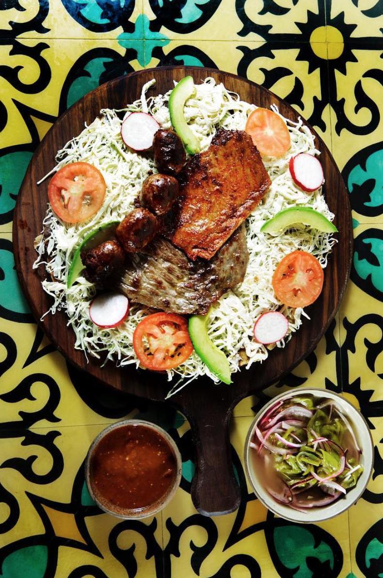 Madre Oaxacan Restaurant via  LA Times Food