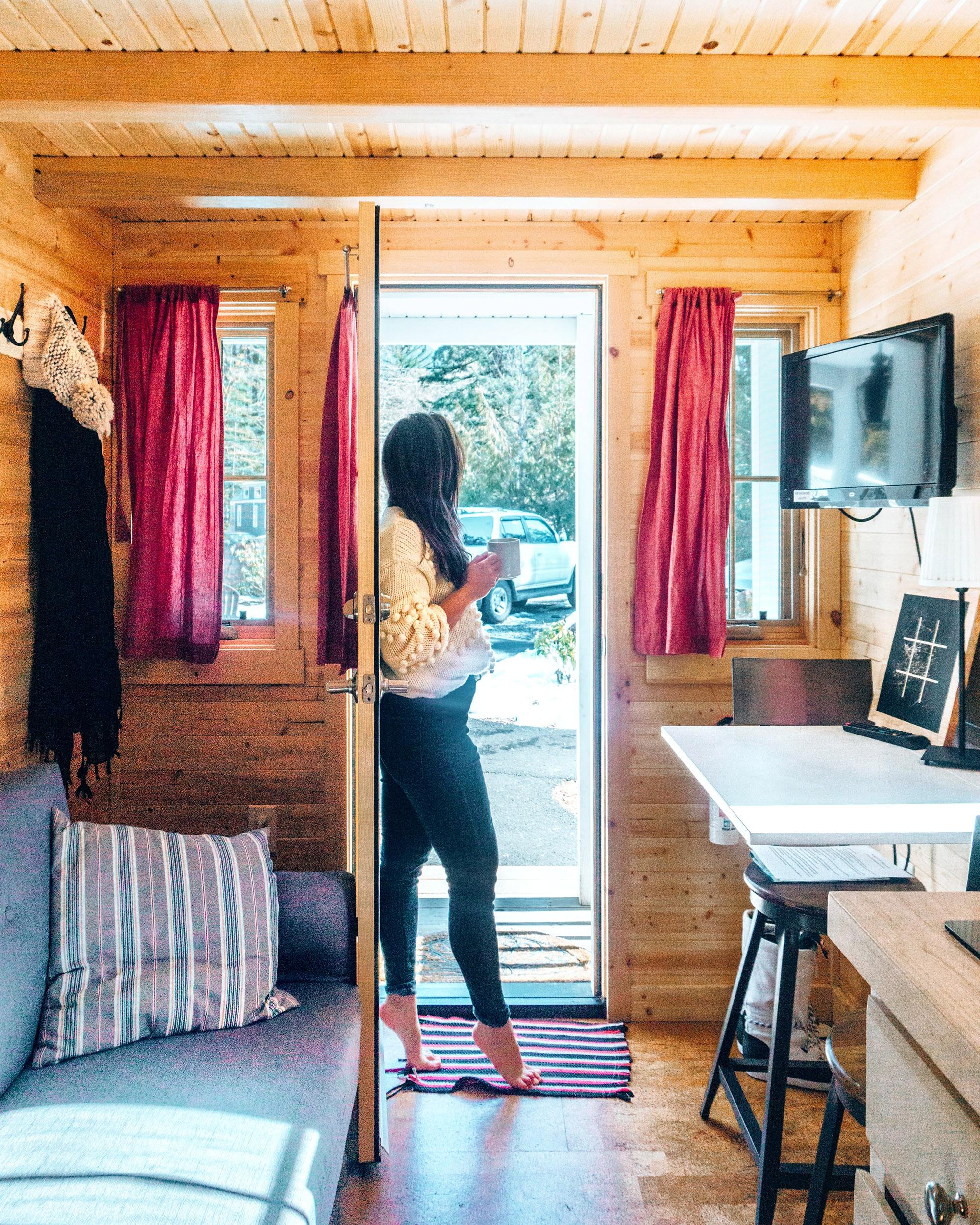 Scarlett Tiny Home doorway