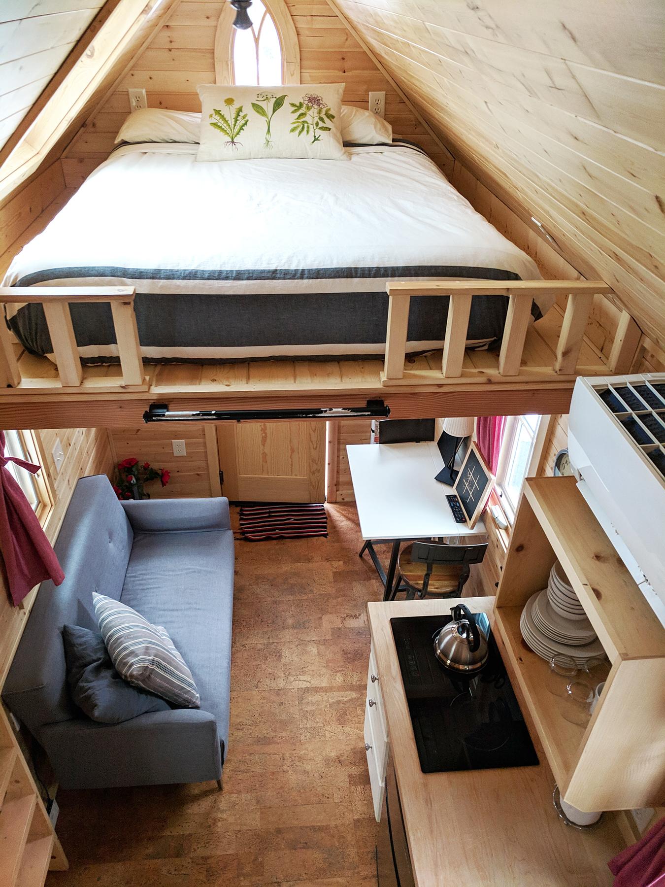Scarlett tiny home interior