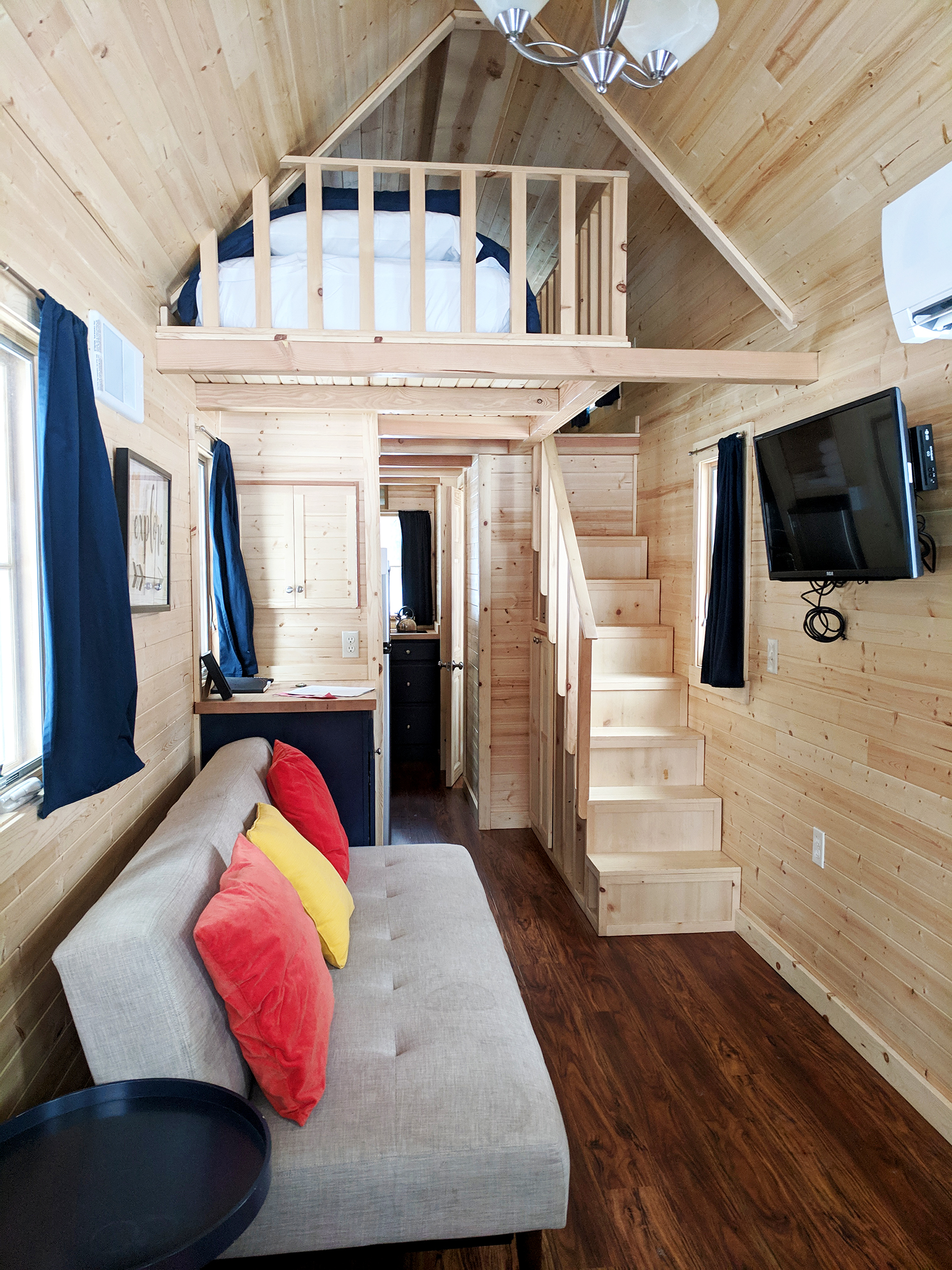 Otto tiny home interior