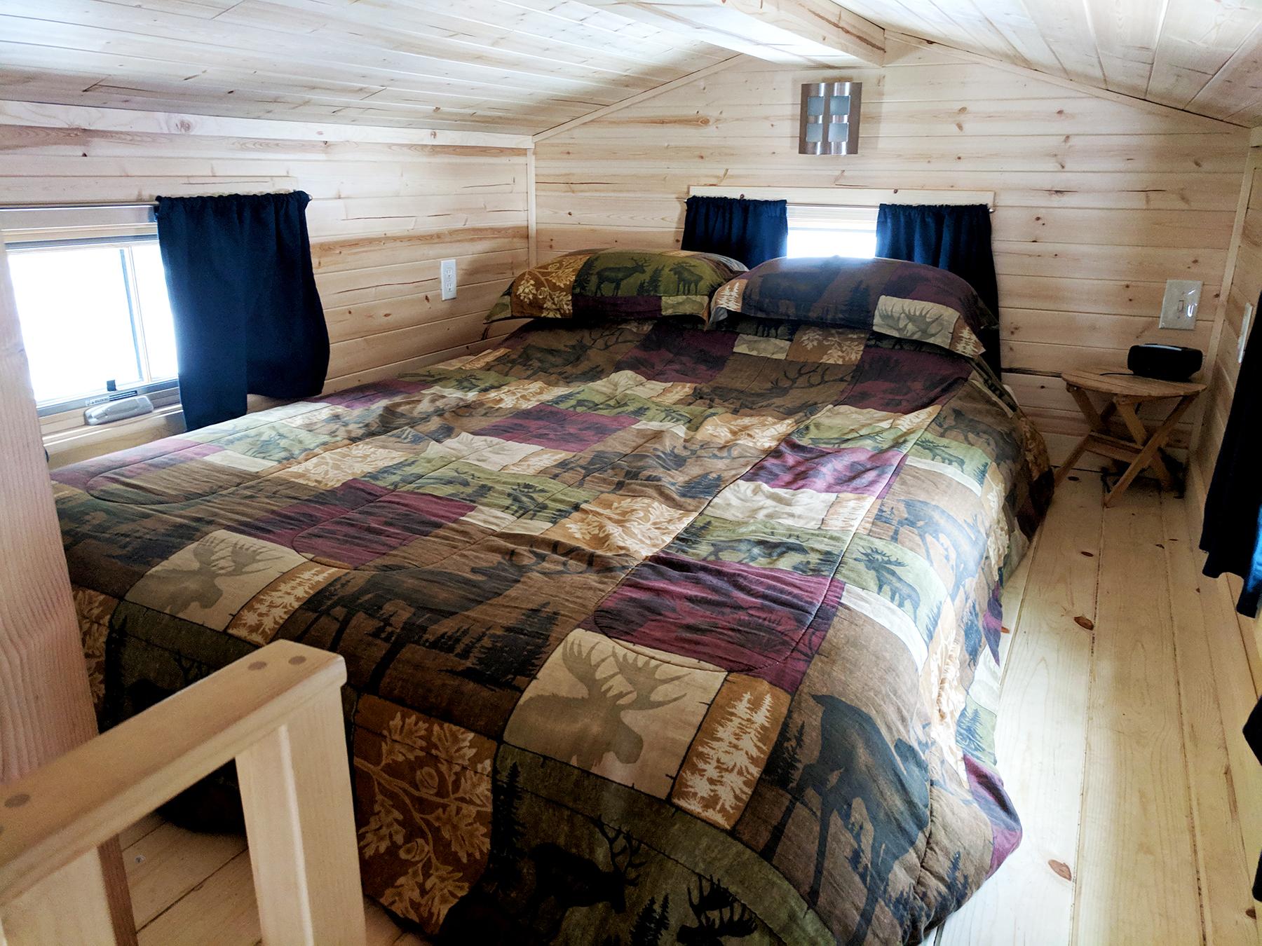 Otto tiny home loft bed