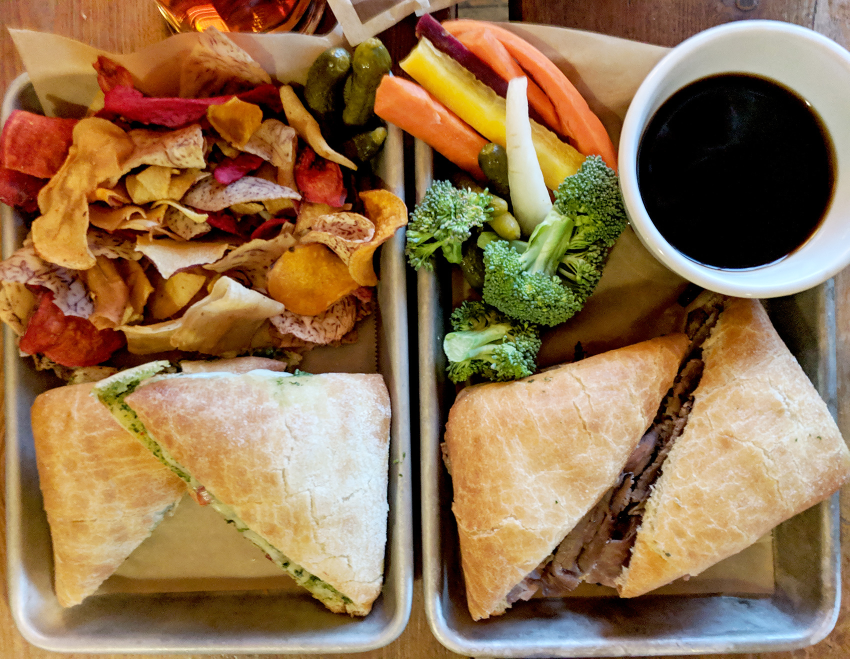 Icicle Brewing sandwiches