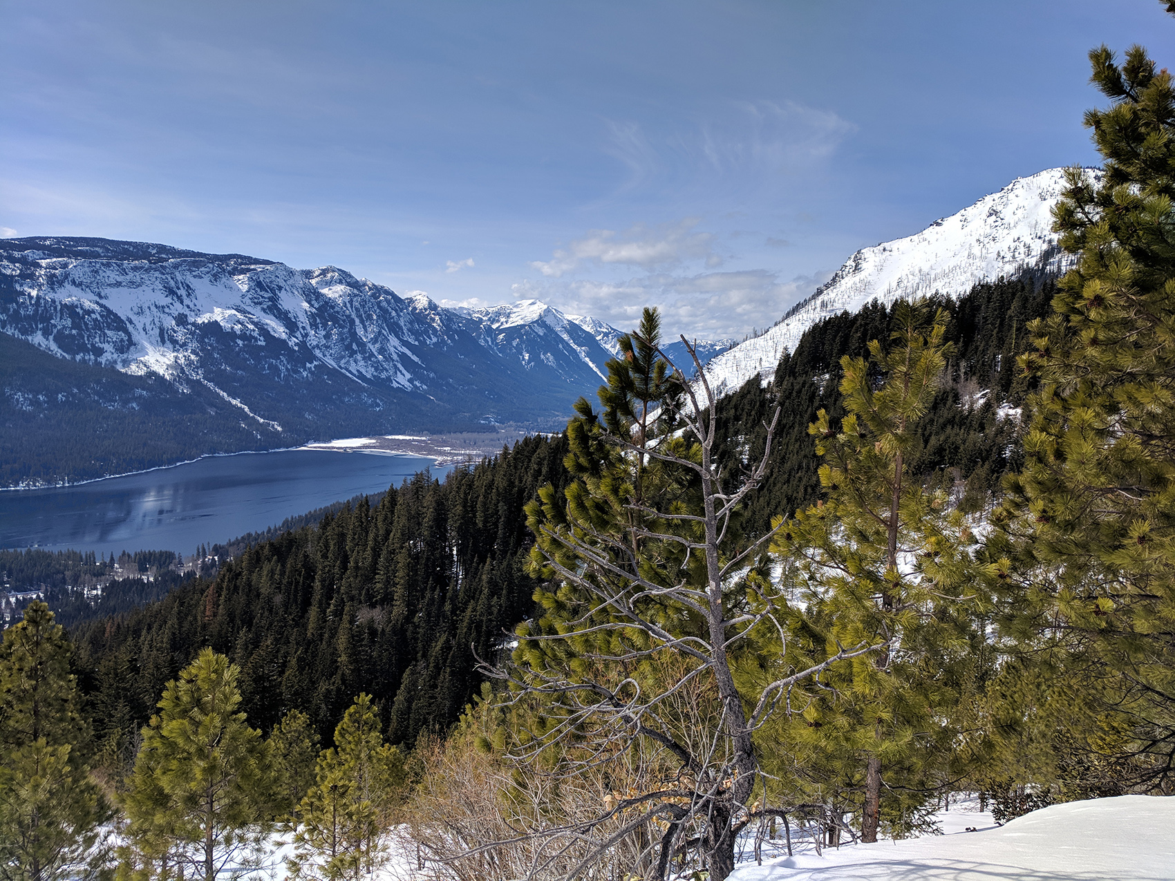 Leavenworth mountain view