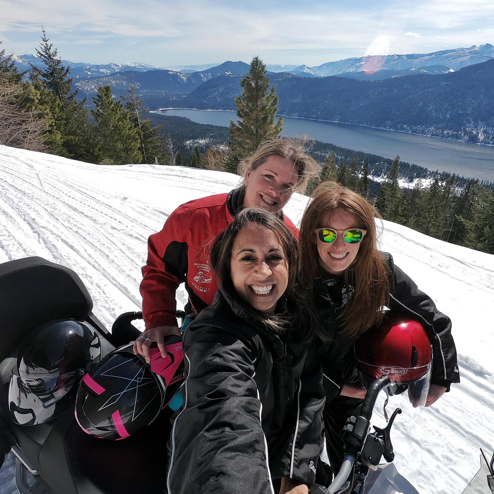 Leavenworth snowmobiling