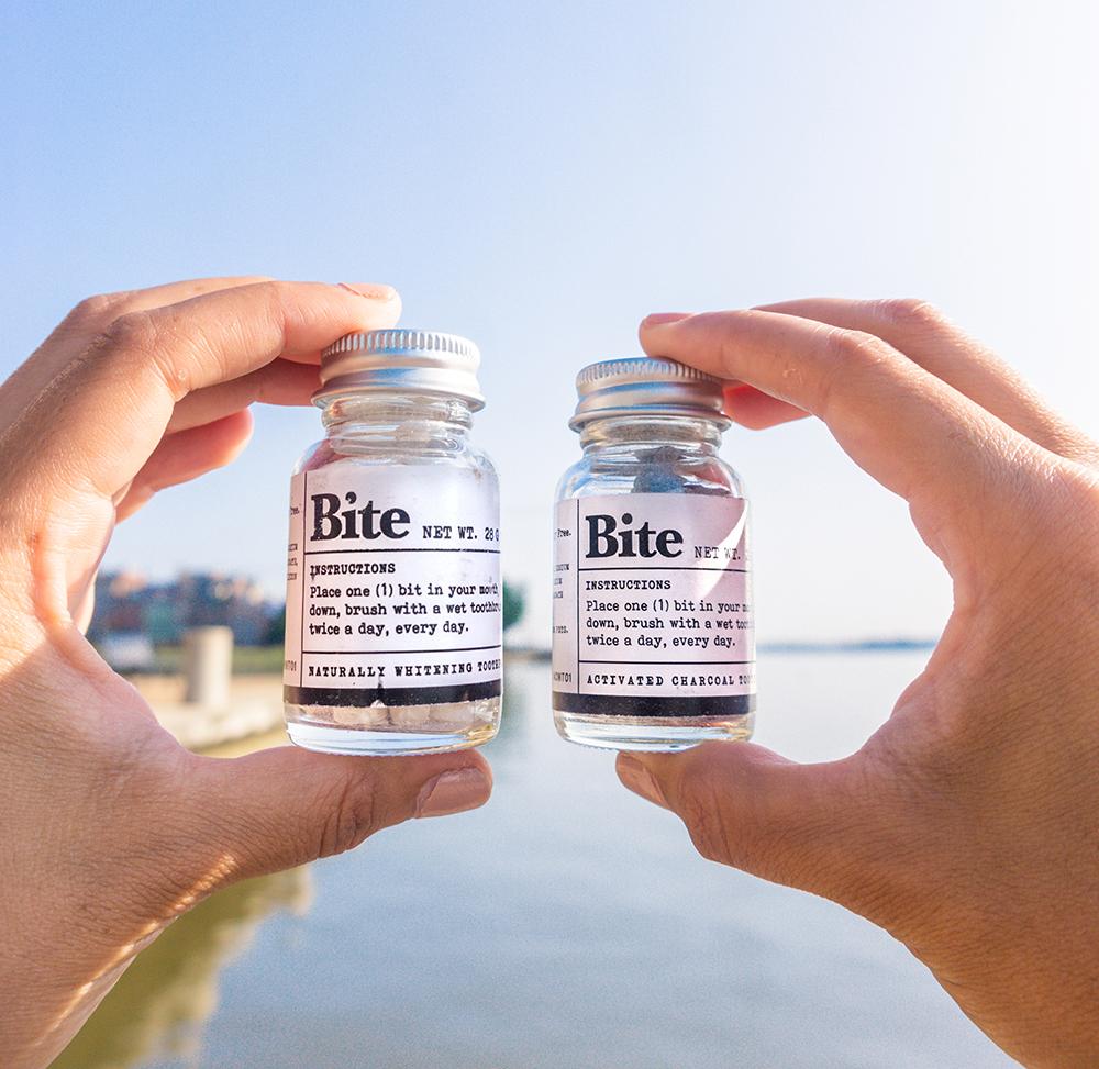 Bite Toothpaste Bits bottles