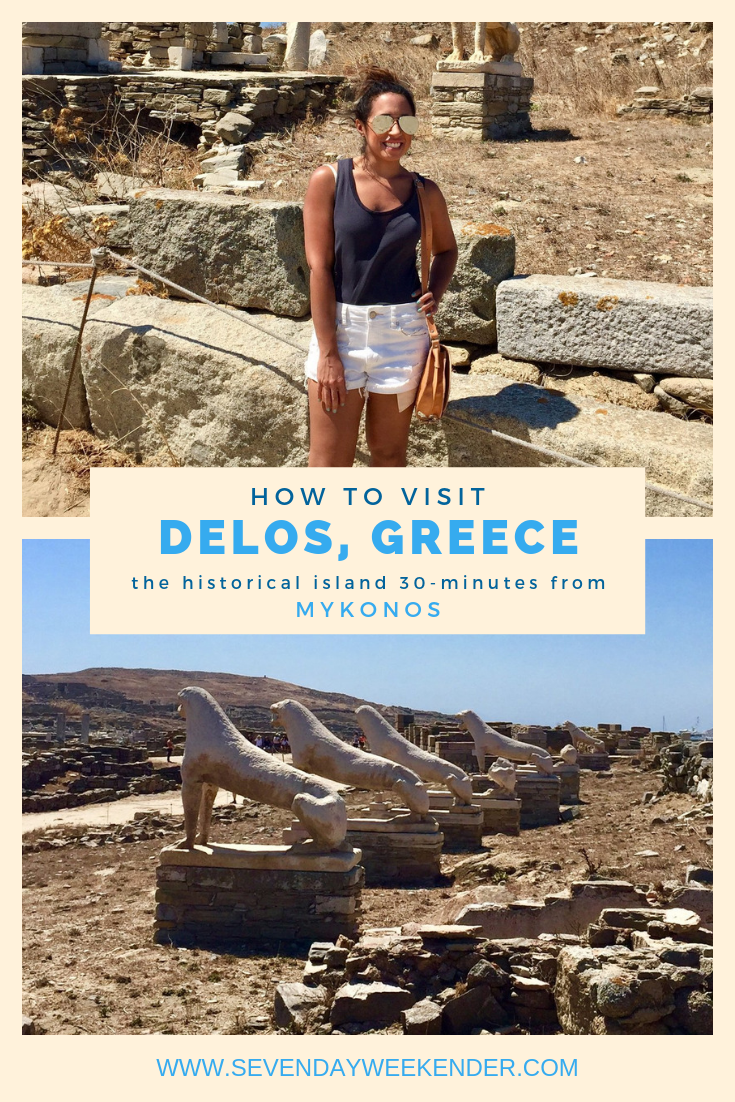 How to Visit Delos Island from Mykonos, Greece