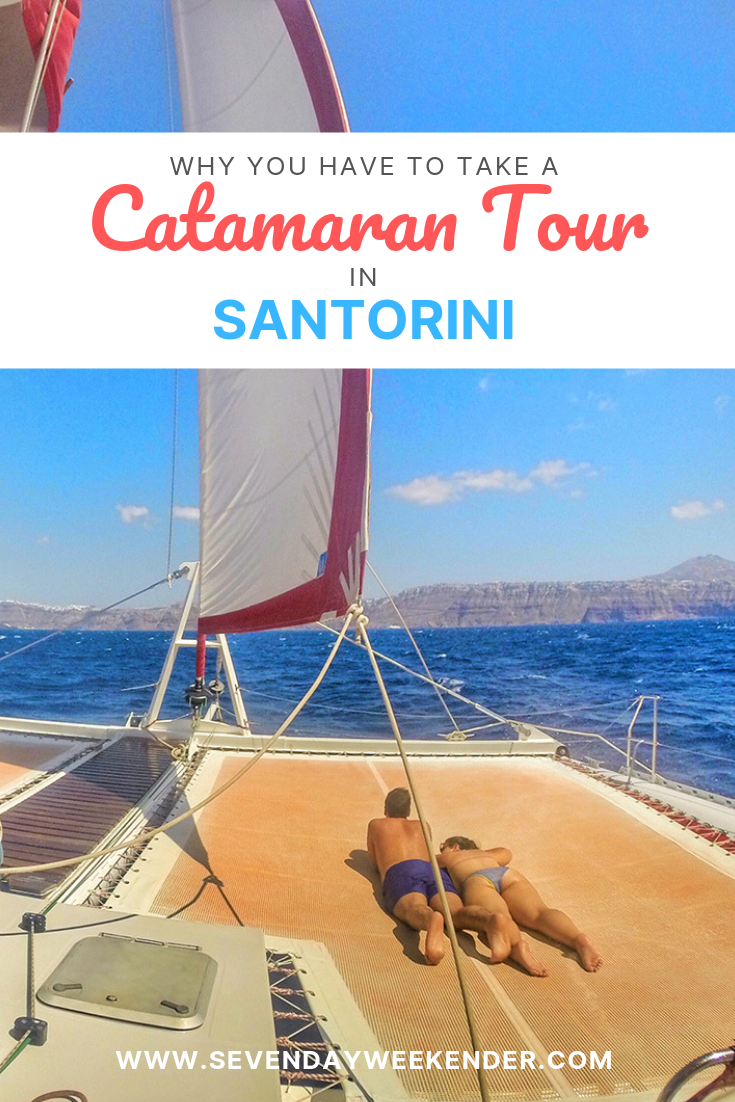 Why You Have to Take a Catamaran Tour in Santorini