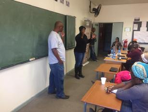 Ms Thabang Moela from City of Tshwane emphasizing the importance of the workshop
