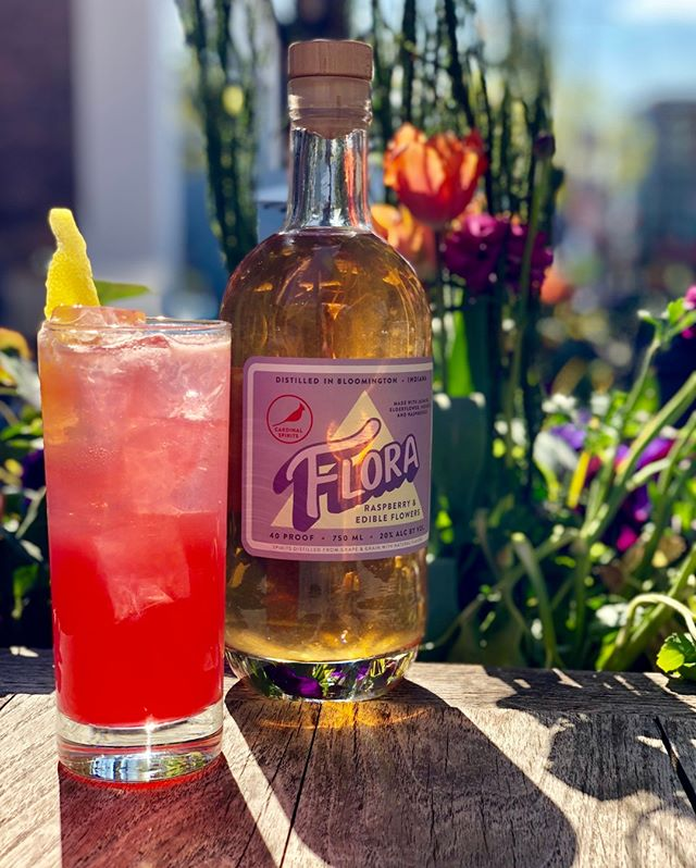 Sweet Sixteen. If warm weather was a cocktail. Featuring our friends at @cardinalspirits
