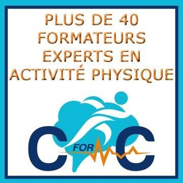 Plus de 40 formateurs en activité physique
