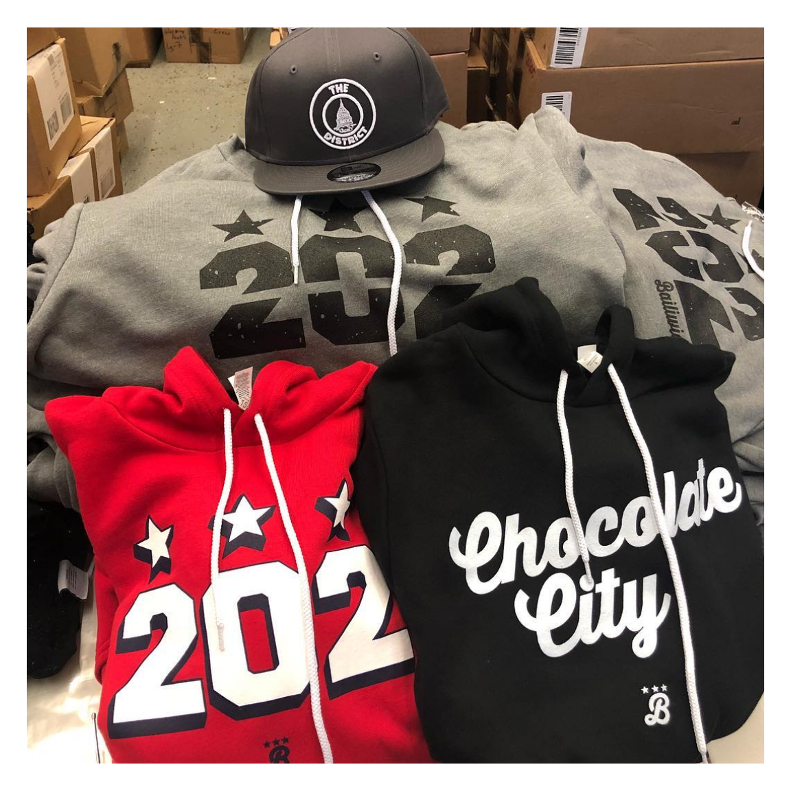 Bailiwick Clothing  - 202 Sweatshirt - Show off your DC pride with this cool and local line of sweatshirts and tees.