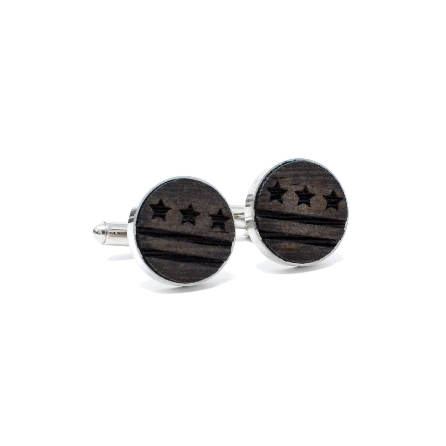 Switchwood  - Cufflinks - Unique and distinct wooden cufflinks to top off your polished look.